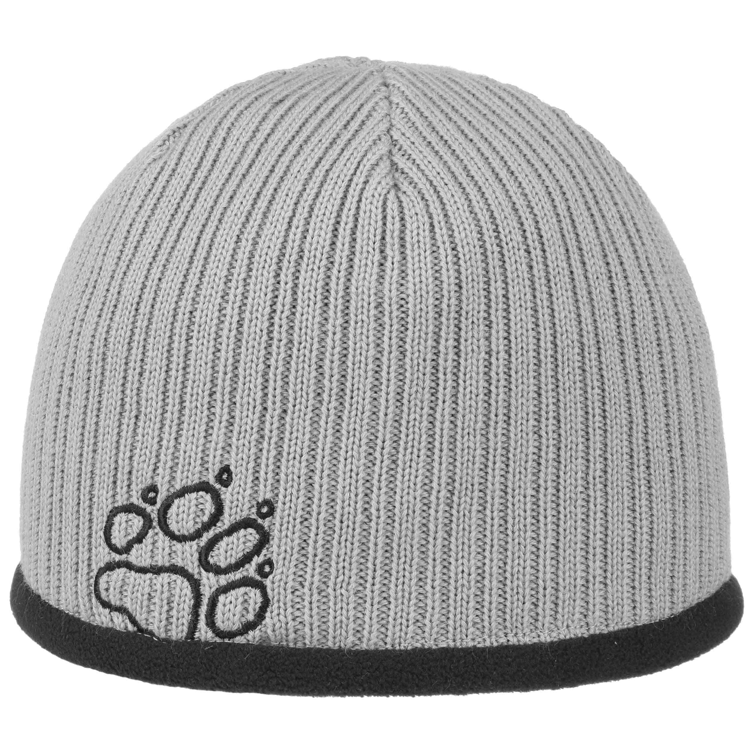 86741353d81 ... Stormlock Ribbed Beanie by Jack Wolfskin - grey 1 ...