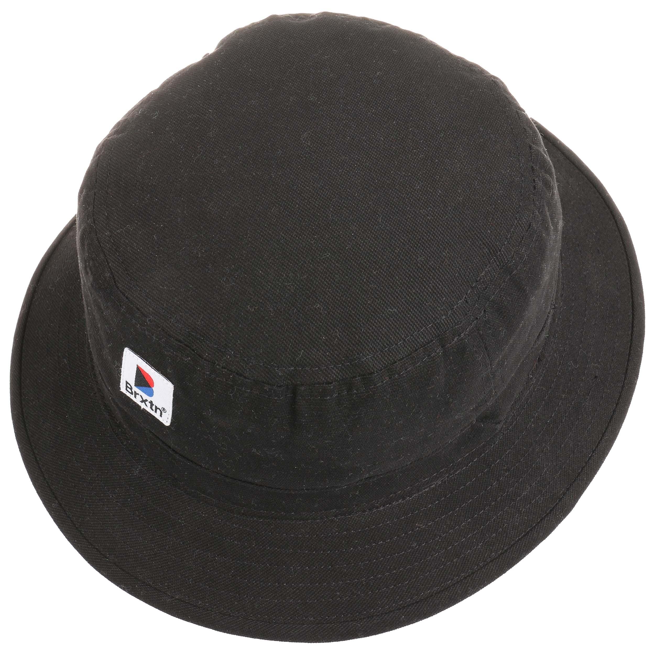 ... low price stowell bucket hat by brixton black 1 e3ec0 bec03 d77edd835ef8