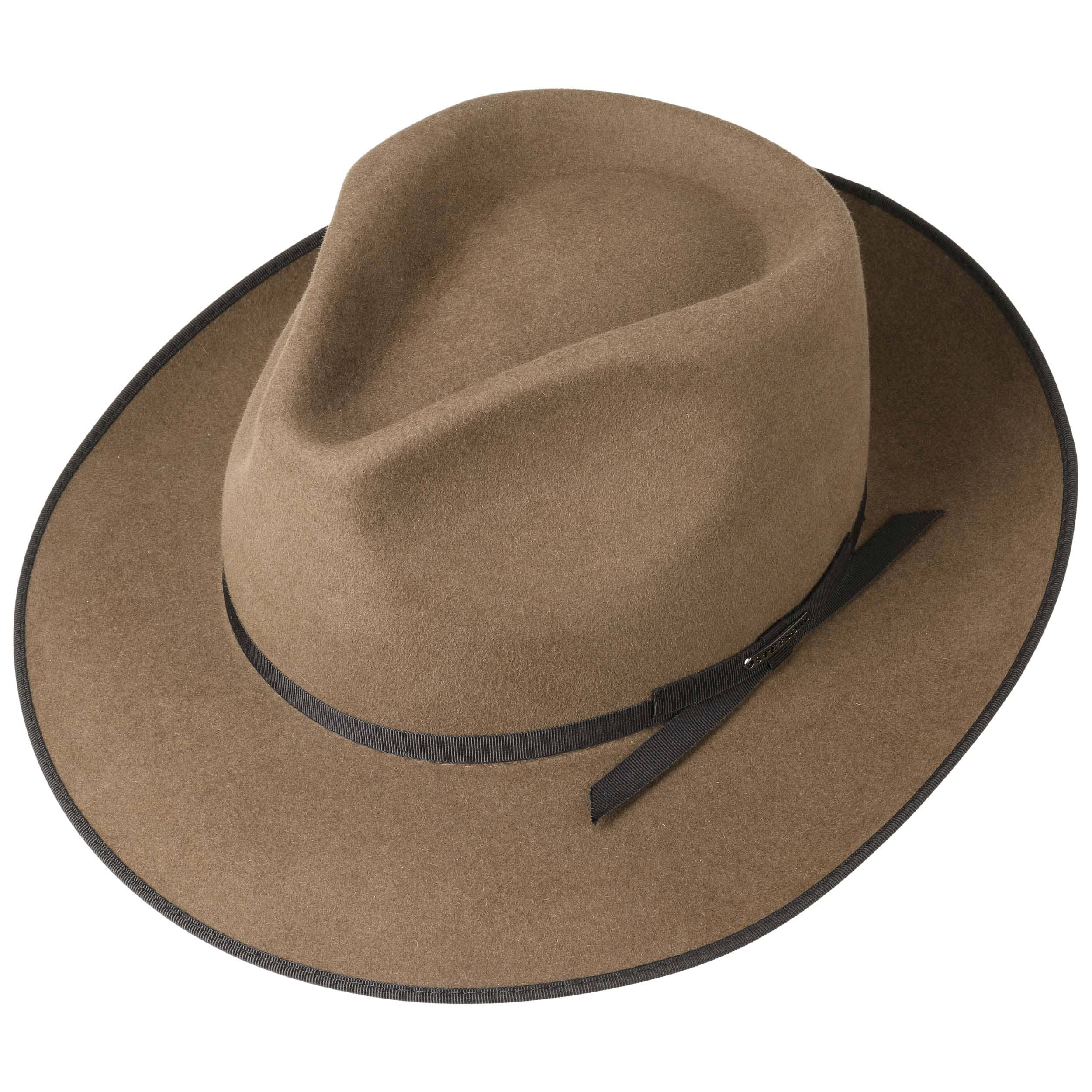 f07a973b7818c Stratoliner Classic Men´s Hat by Stetson - light brown 1 ...