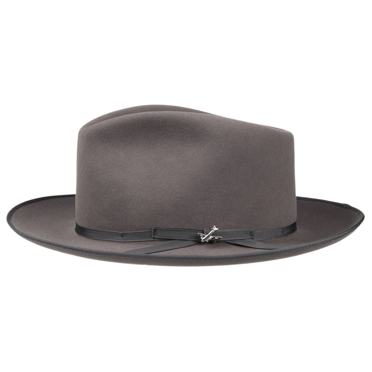 30158e52133aac ... Stratoliner Fur Felt Hat by Stetson - dark brown 6 ...