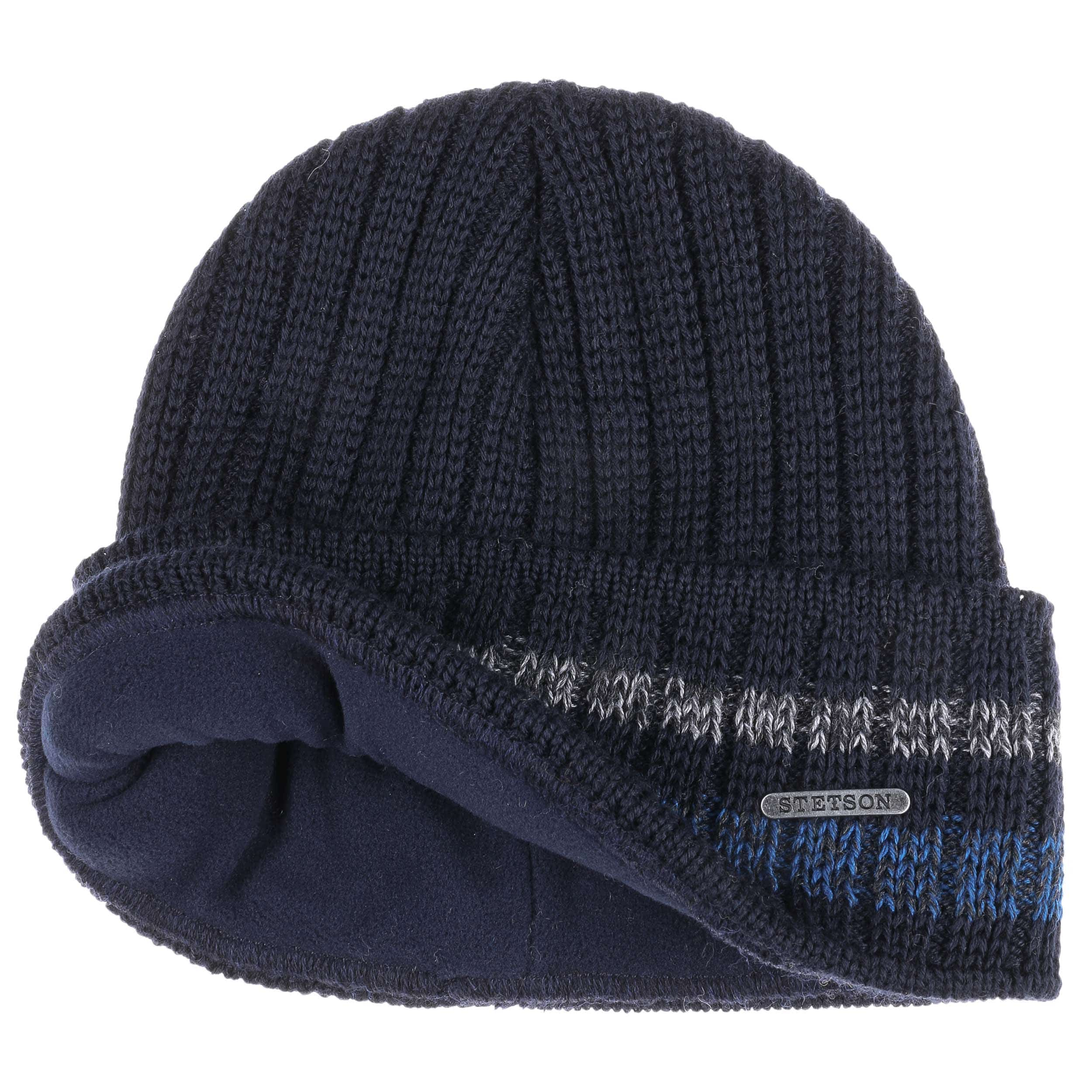 66889029afa Striped Cuff Wool Beanie. by Stetson
