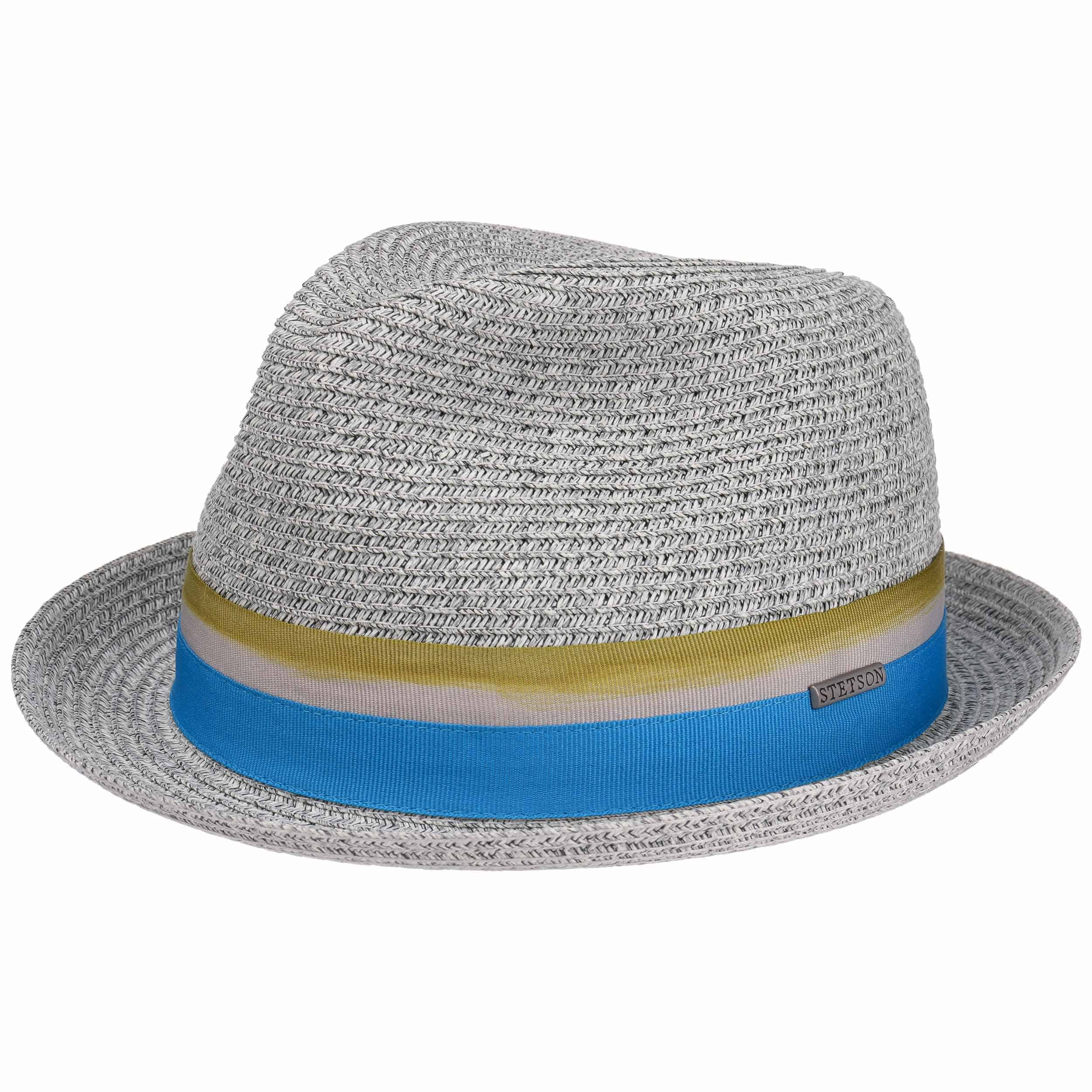 6a7e881170b Striped Ribbon Player Straw Hat by Stetson, GBP 59,00 --> Hats, caps ...