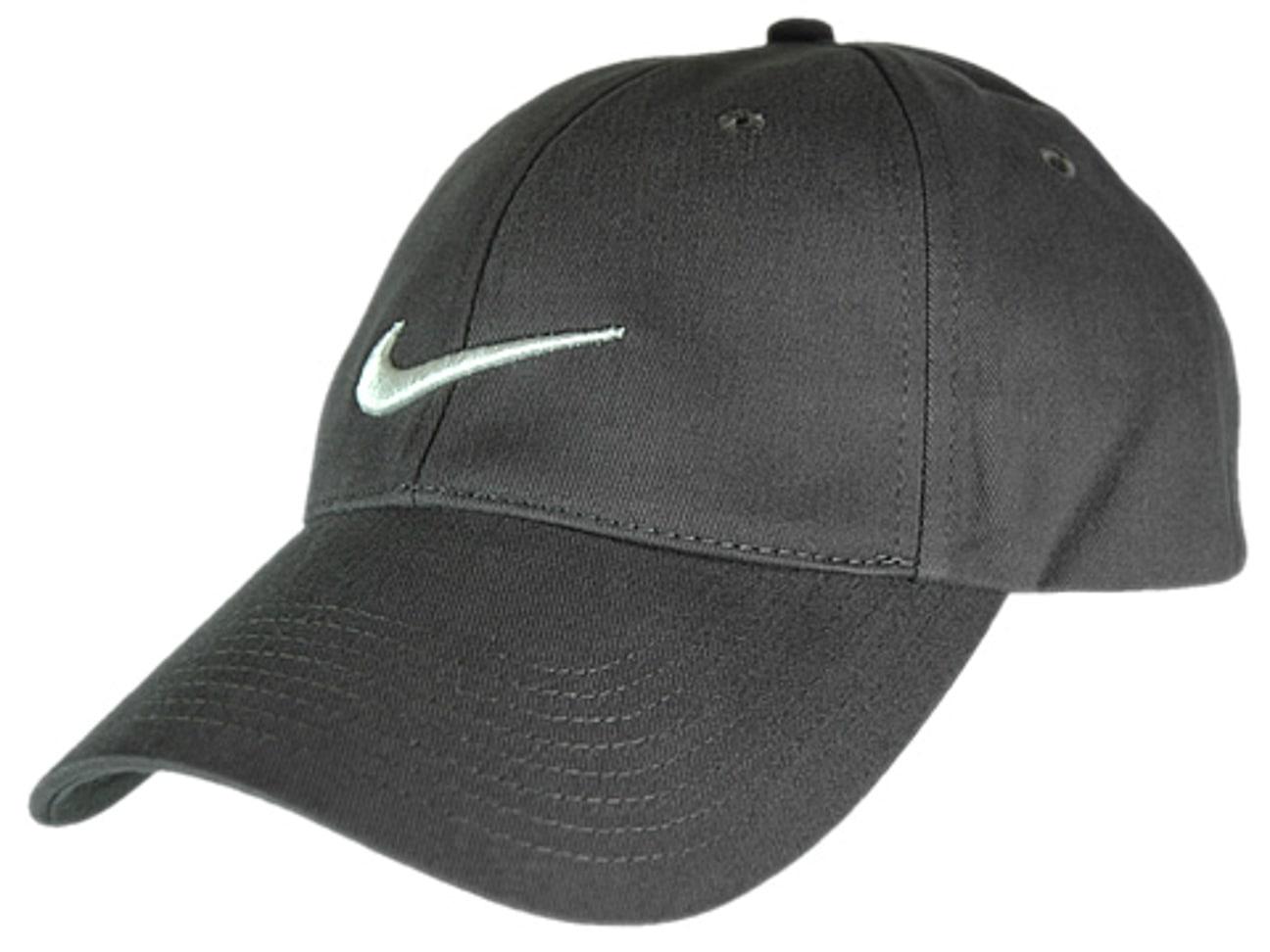 03952a9e320c5 ... Structured Swoosh Cap by Nike - grey 1 ...
