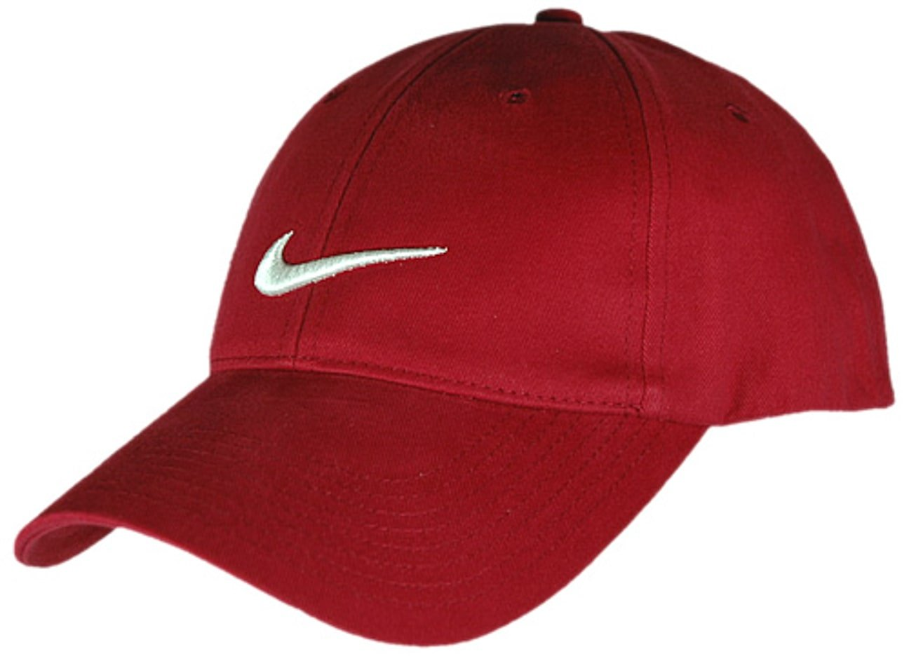 55b955f14d7a2 Structured Swoosh Cap by Nike - red 1 ...