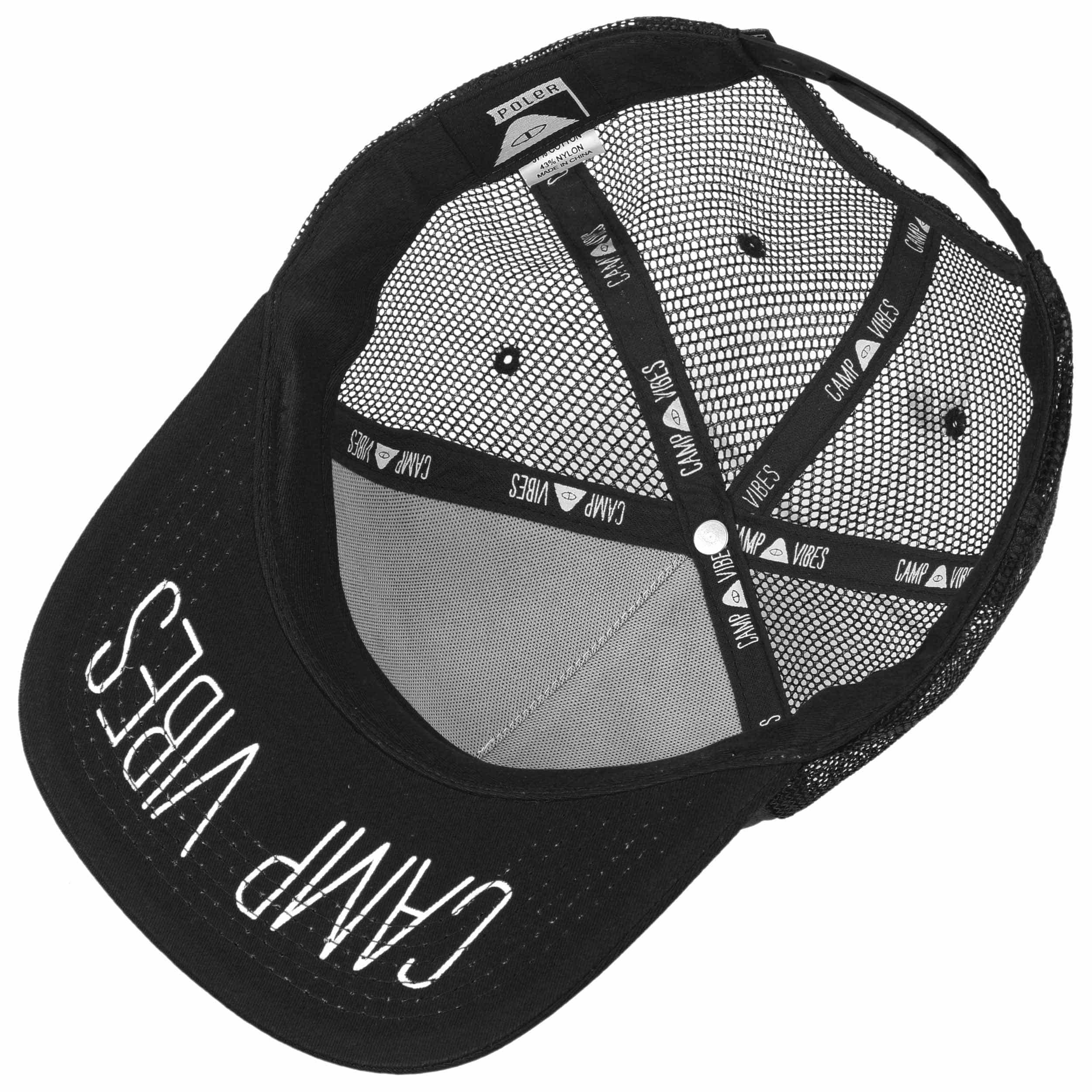 ... Summit Trucker Cap by Poler - black 2 ... a66530748ee6