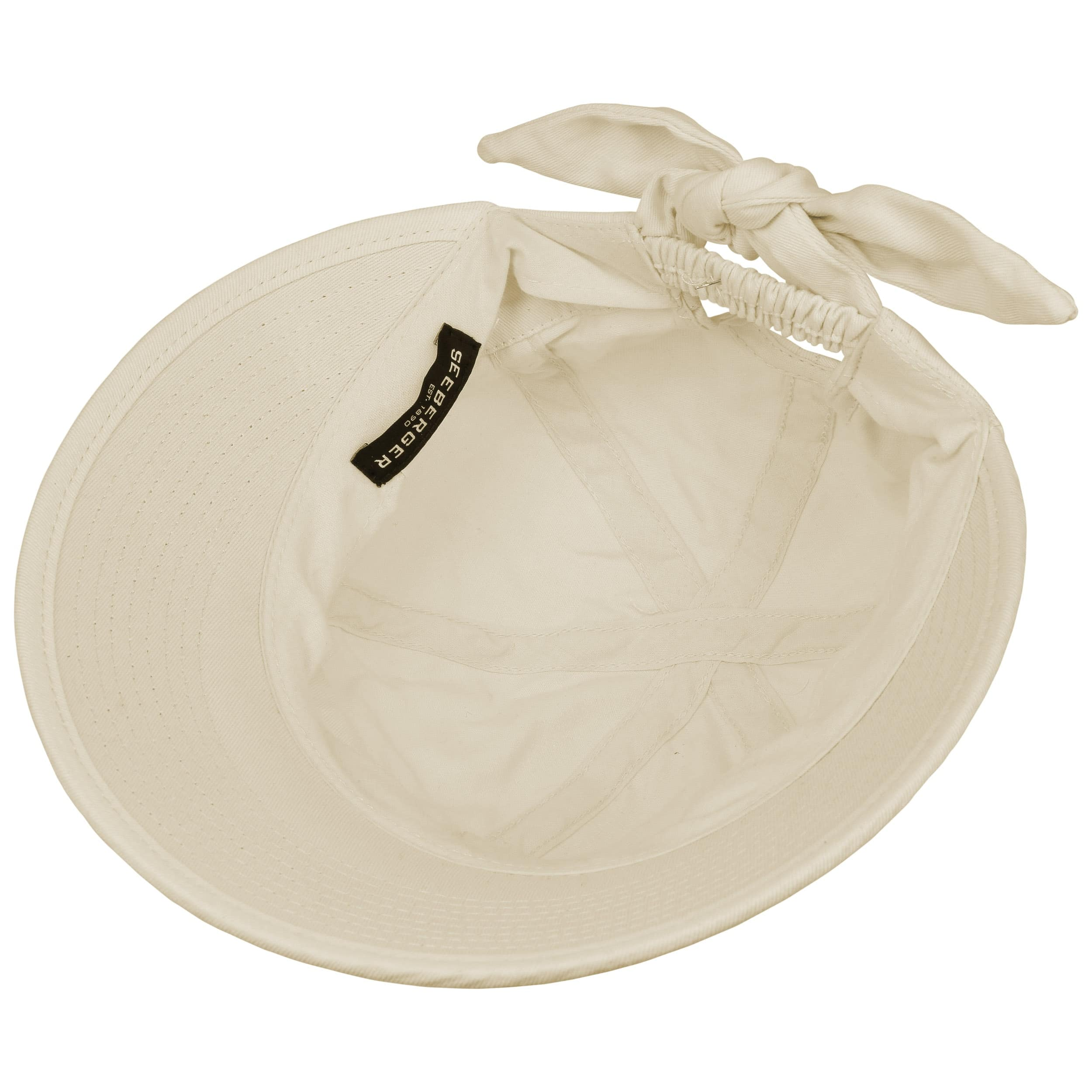 82aac7b10687a5 ... Sunshine Cap by Seeberger - cream white 2 ...