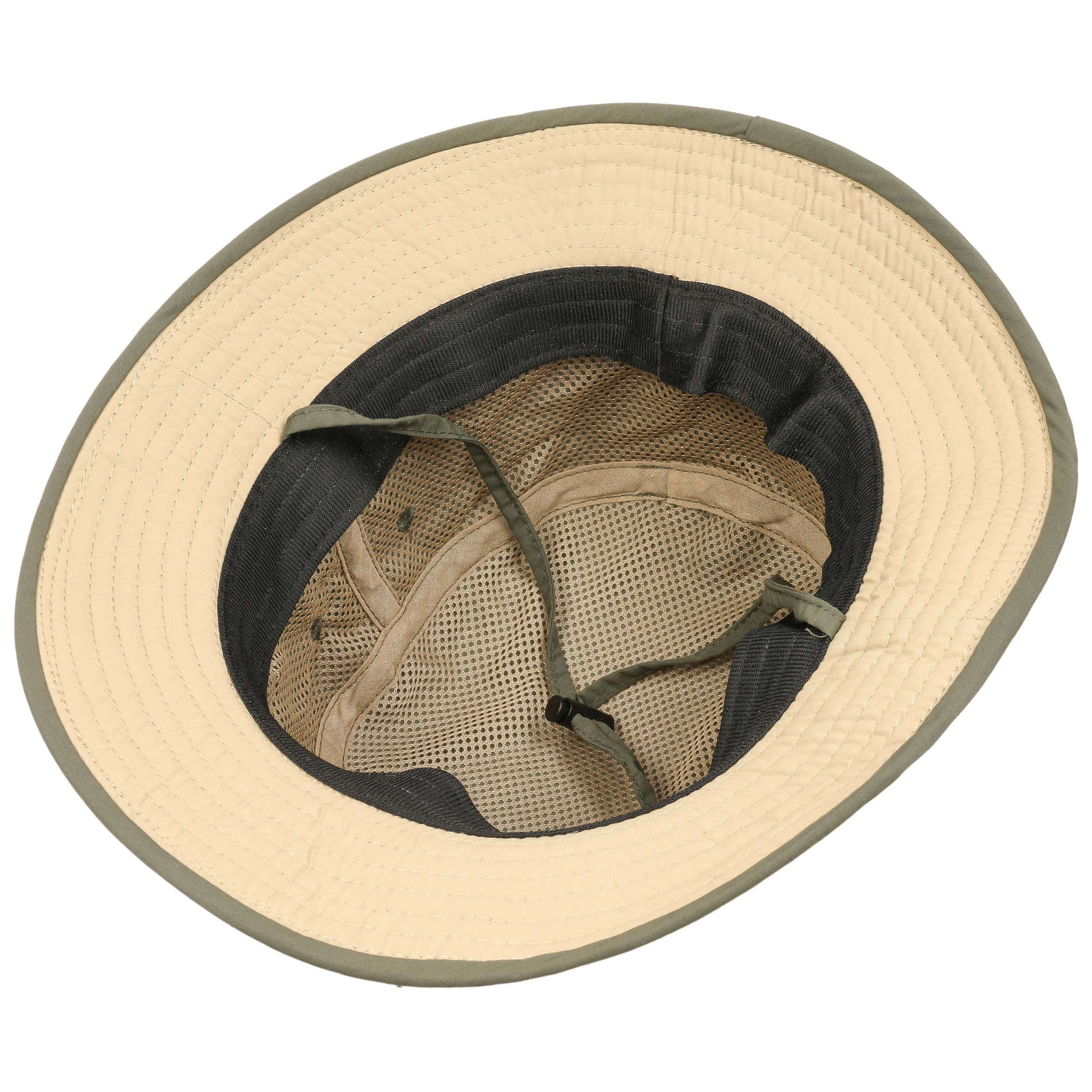 57e99891a9b39 ... Supplex Fishing Hat with Chin Strap by Lipodo - olive 2 ...