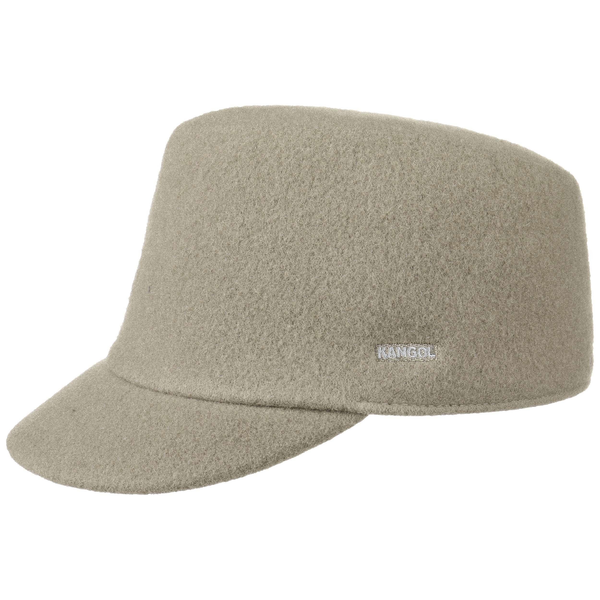 ... Supremo Wool Cap by Kangol - dark beige 5 82cd726af2d