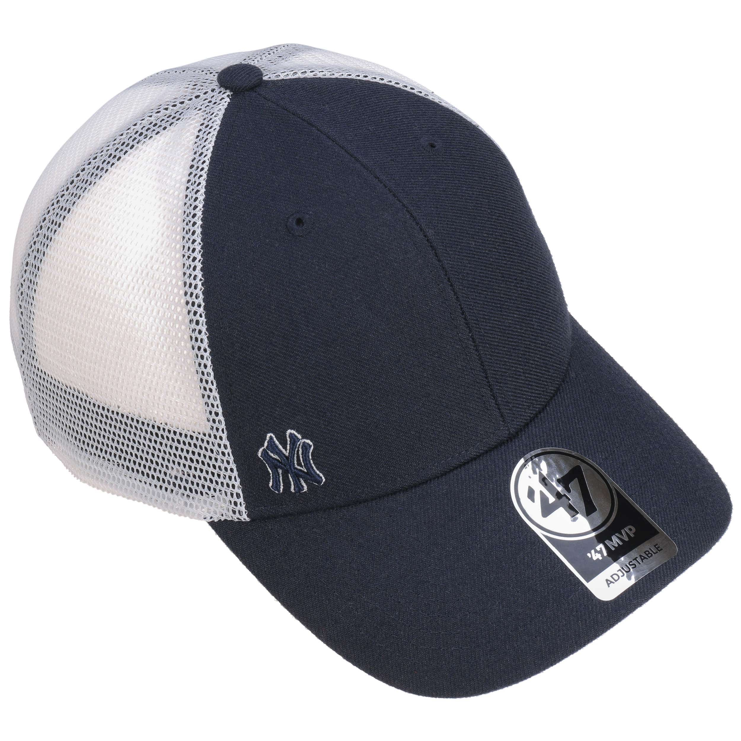 ... Suspense Yankees Trucker Cap by 47 Brand - blue 1 ... 1b503972297
