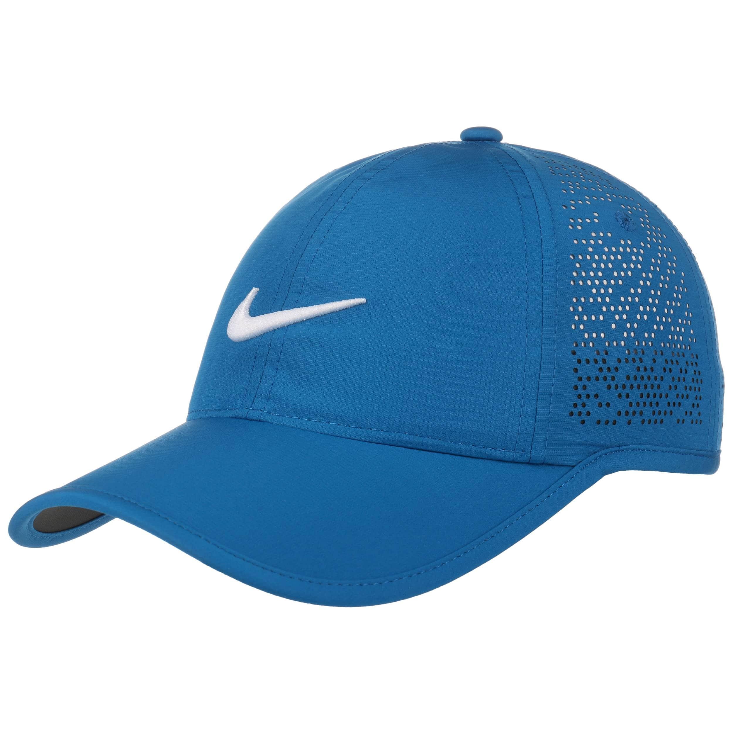dbb6e2d5ed4 ... get swoosh perforation cap by nike blue 6 a9d57 07cad