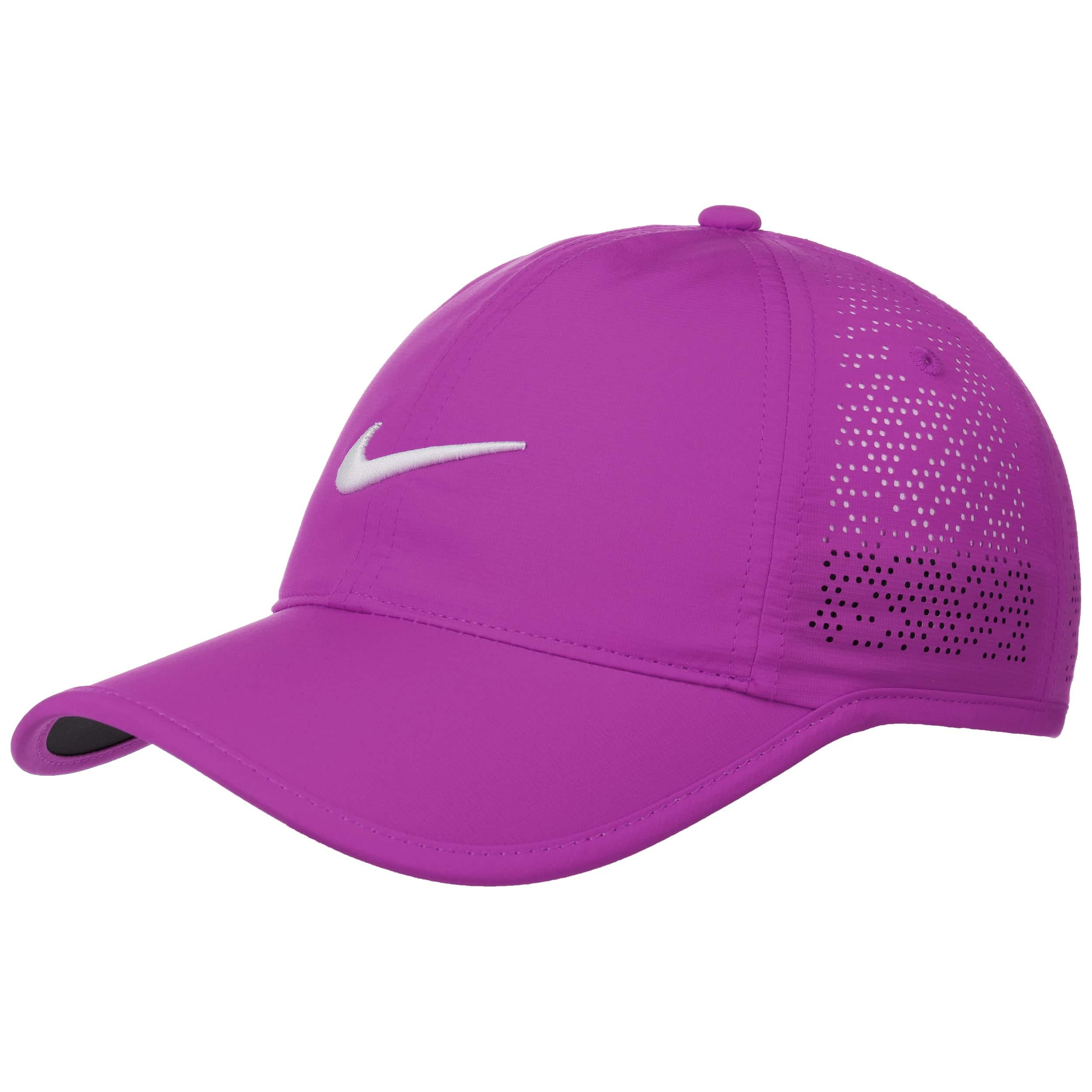413a9e6a40017 ... Swoosh Perforation Cap by Nike - purple 2 ...