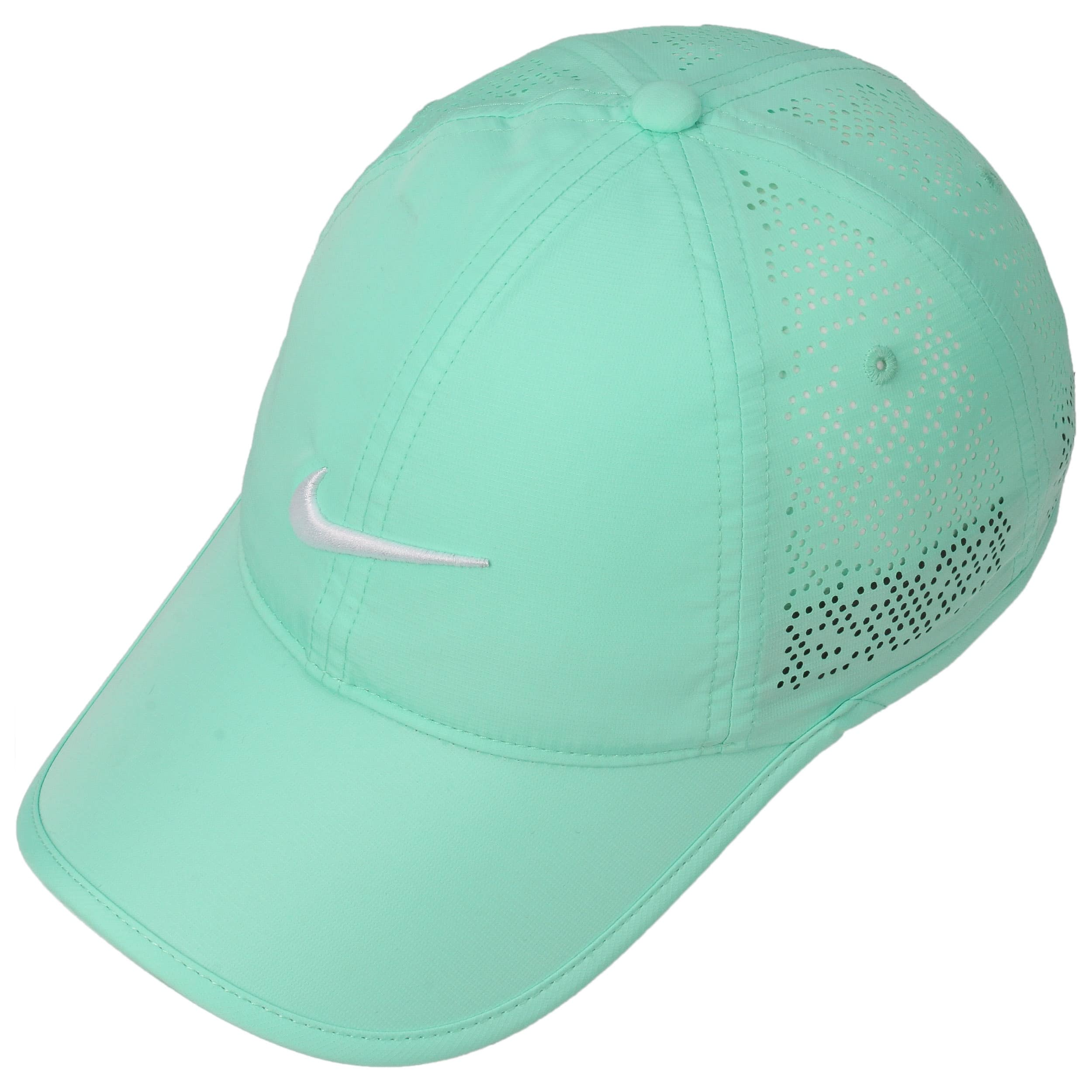f53756b982a ... Swoosh Perforation Cap by Nike - turquoise 1 ...