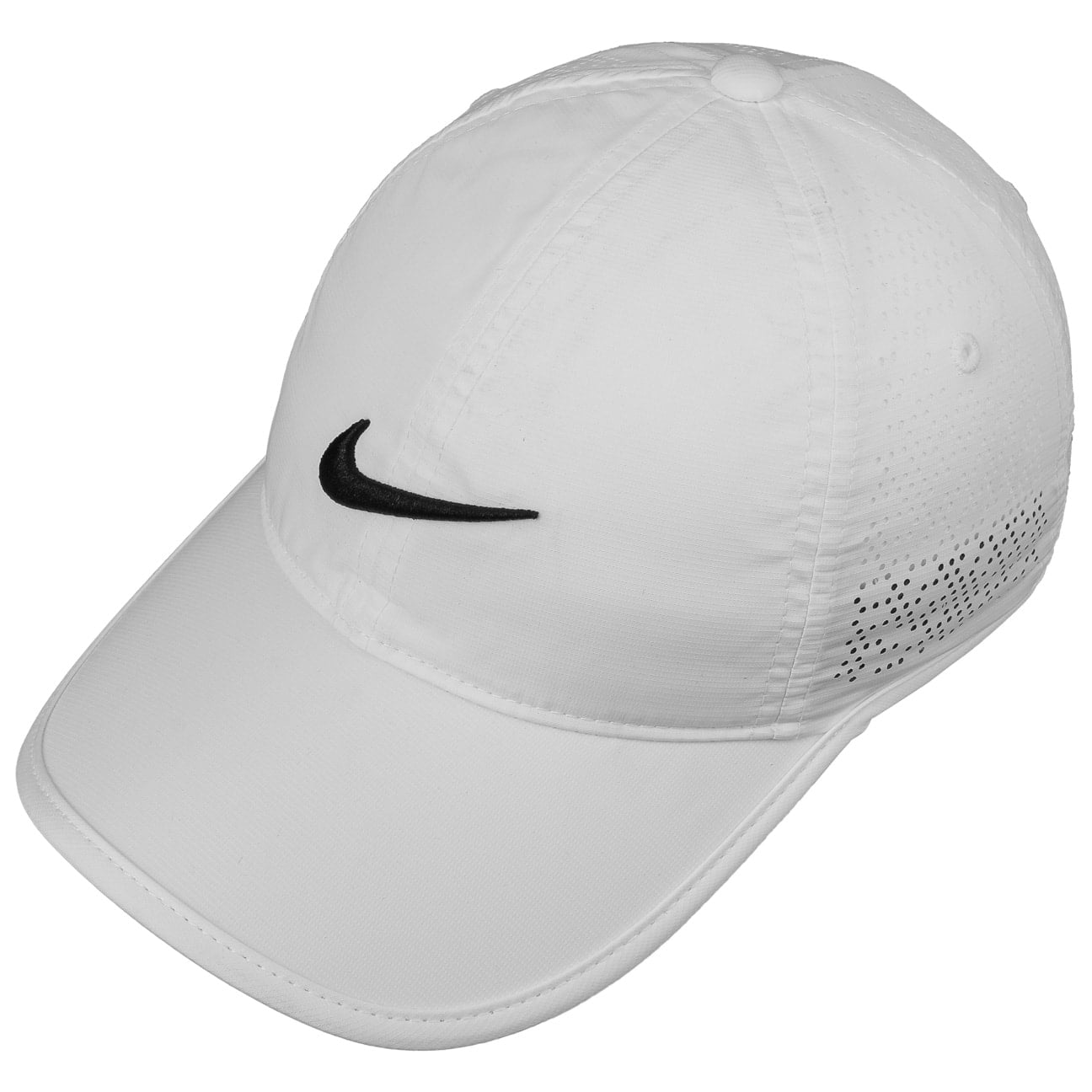 d70142fa9c2 ... Swoosh Perforation Cap by Nike - white 2 ...