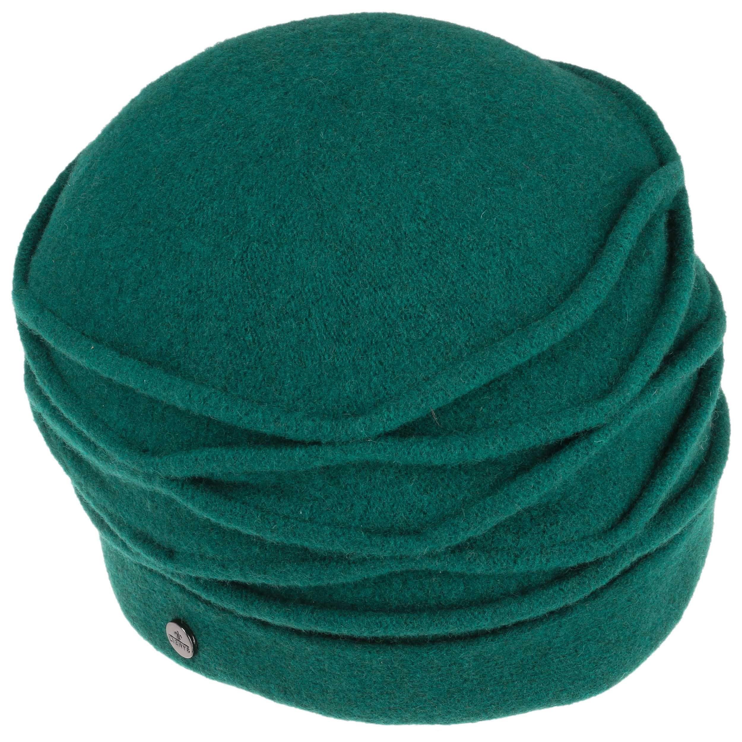 ... Taleta Milled Wool Hat with Pipings by Lierys - petrol blue 1 ... 7381a419a02