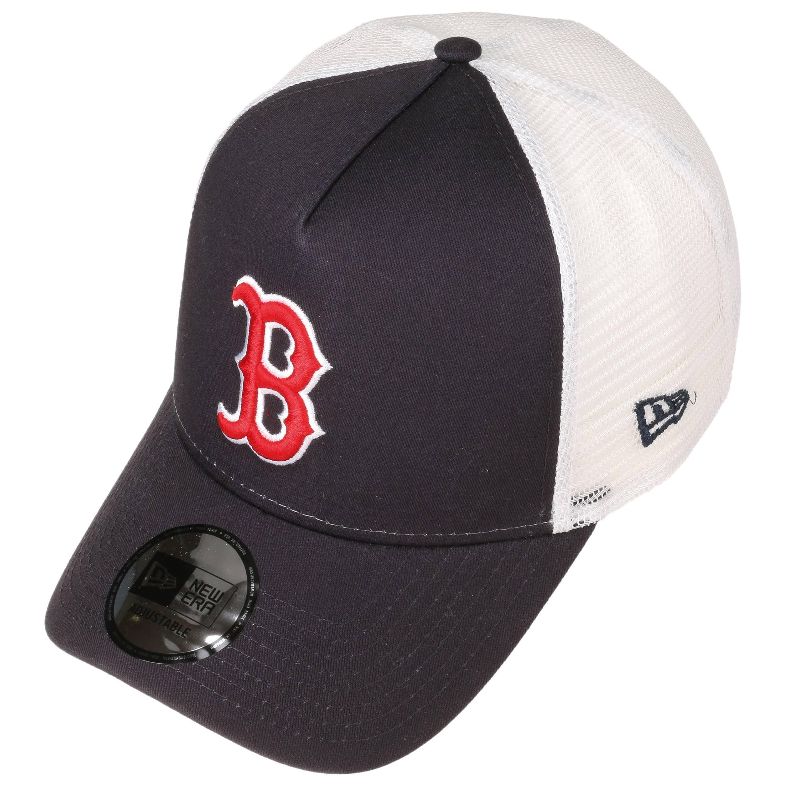 3f75d9dc311 ... caps hatstoreworld 28dd1 f4649  coupon for team ess red sox trucker cap  by new era navy 1 24e50 3ea36