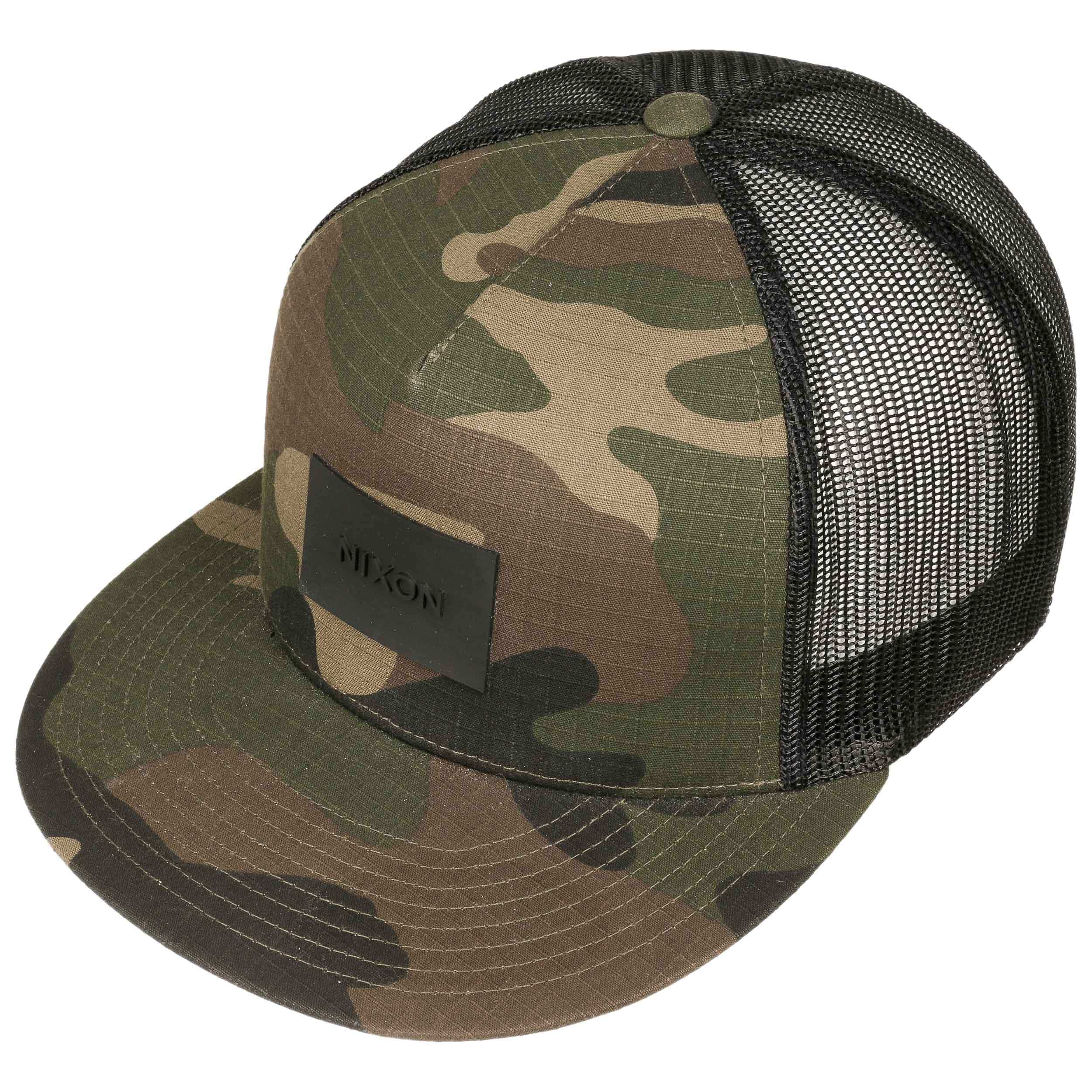 ... Team Trucker Cap by Nixon - camouflage 1 ... 68de5a52a9b