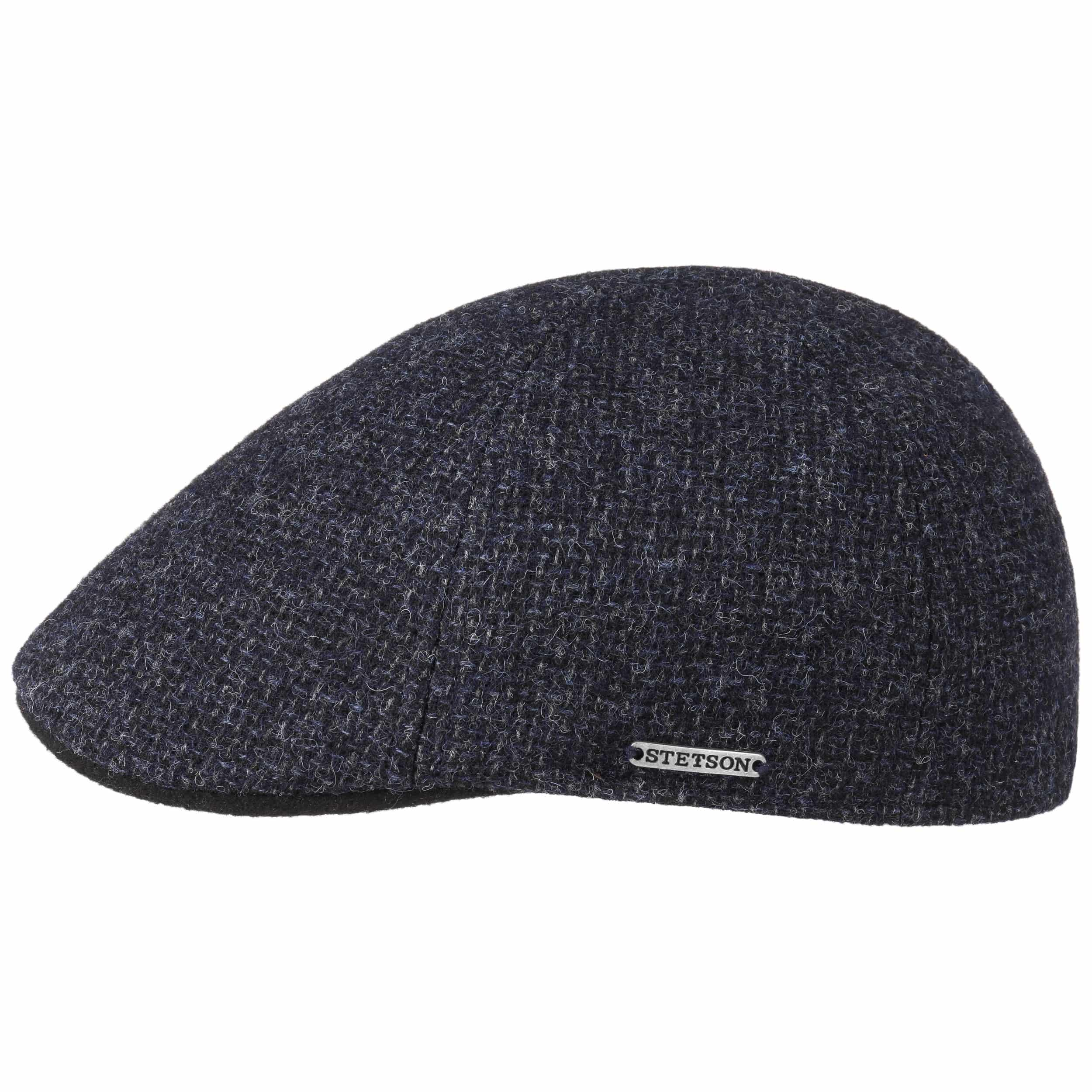 f022fb96a53e7 ... Texas Classic Wool Flat Cap by Stetson - dark grey 6 ...