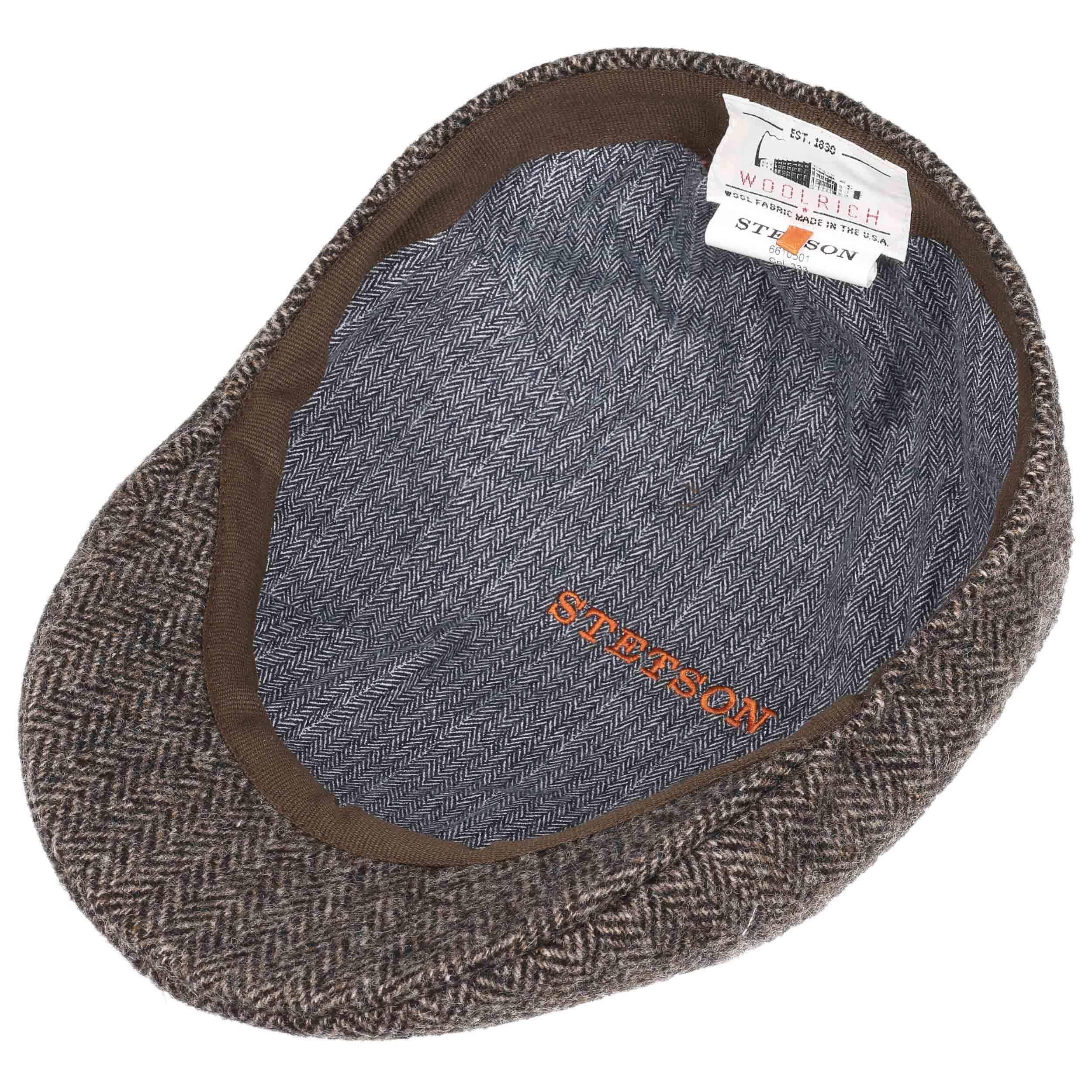... Texas Woolrich Herringbone Cap by Stetson - grey 2 ... 980bcc35f2a