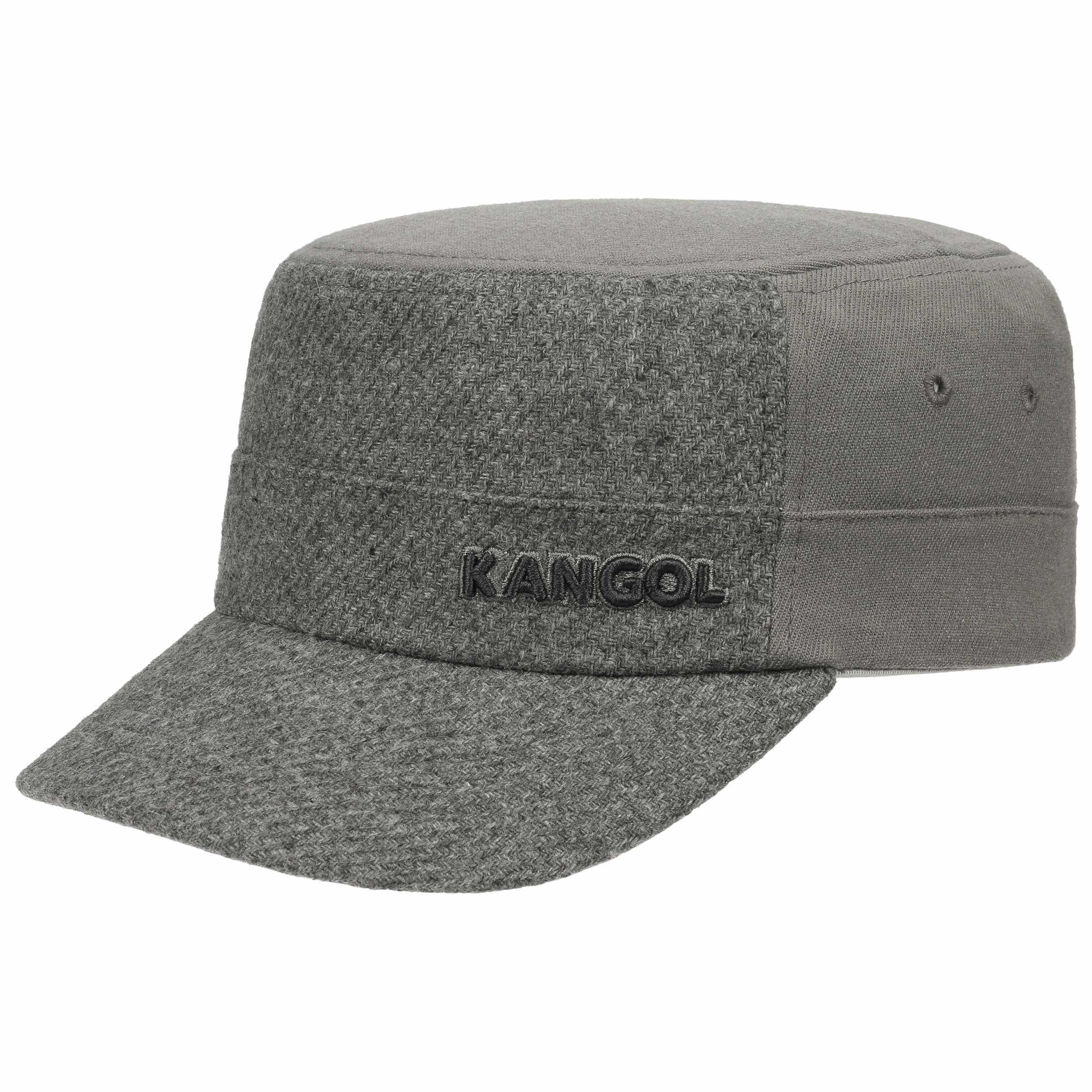 edfd8ac48b5 ... Textured Flexfit Army Cap by Kangol - grey 4 ...