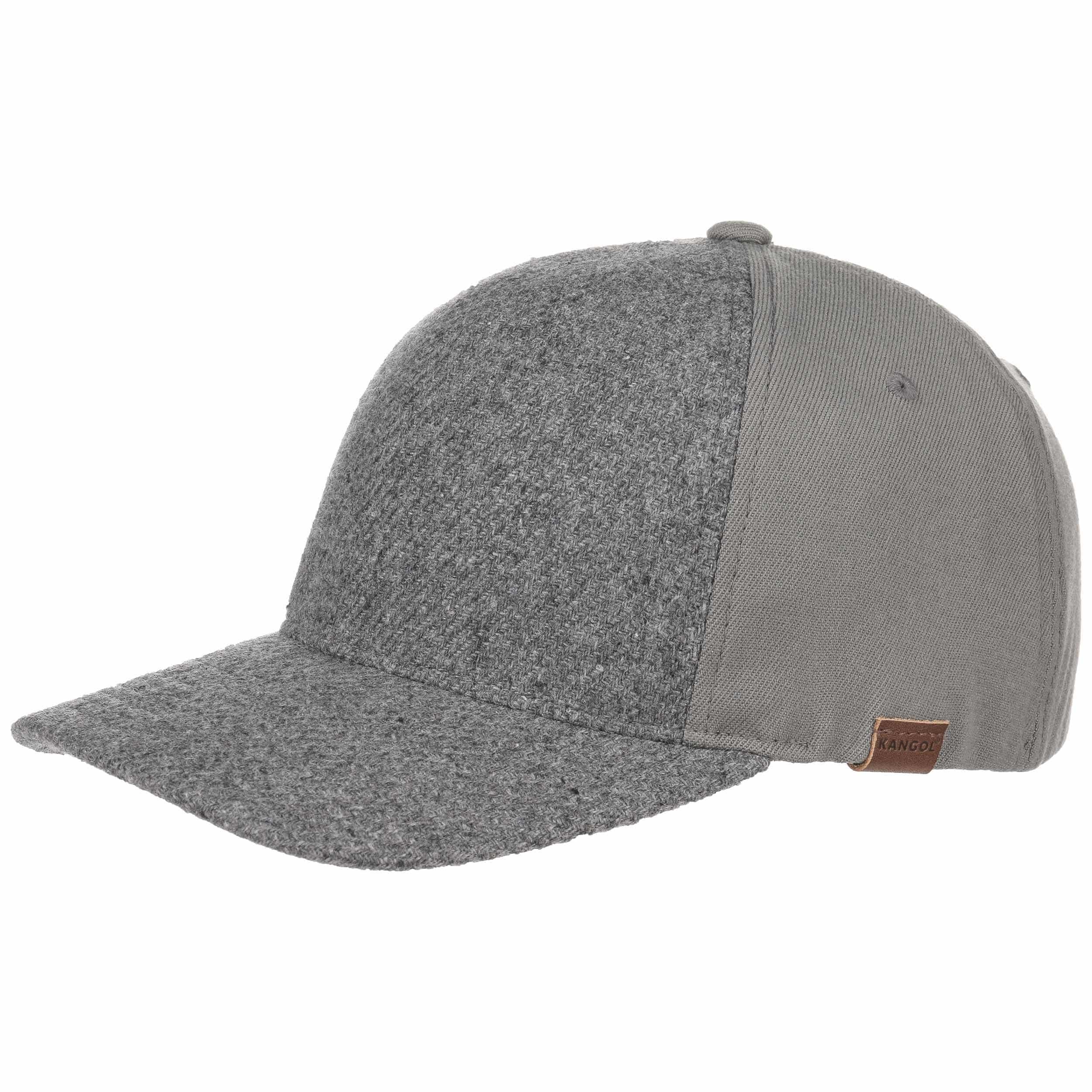 ... Textured Wool Flexfit Cap by Kangol - grey 6 ... 3d2282b3b47e
