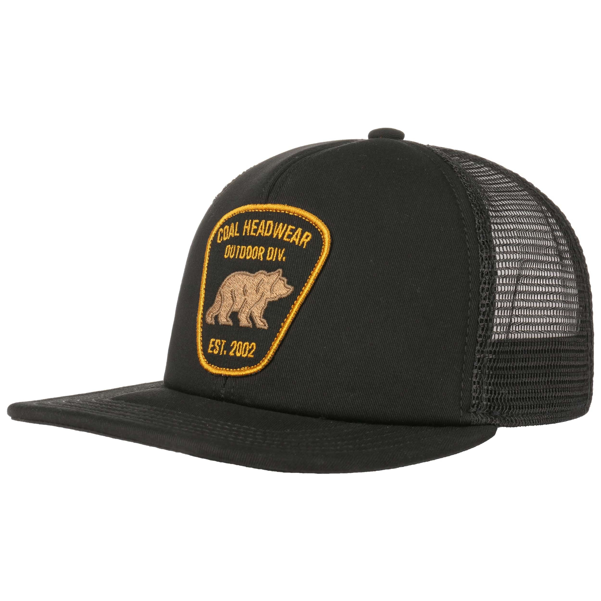 e89603ba3a7 ... The Bureau Trucker Cap by Coal - black 5 ...
