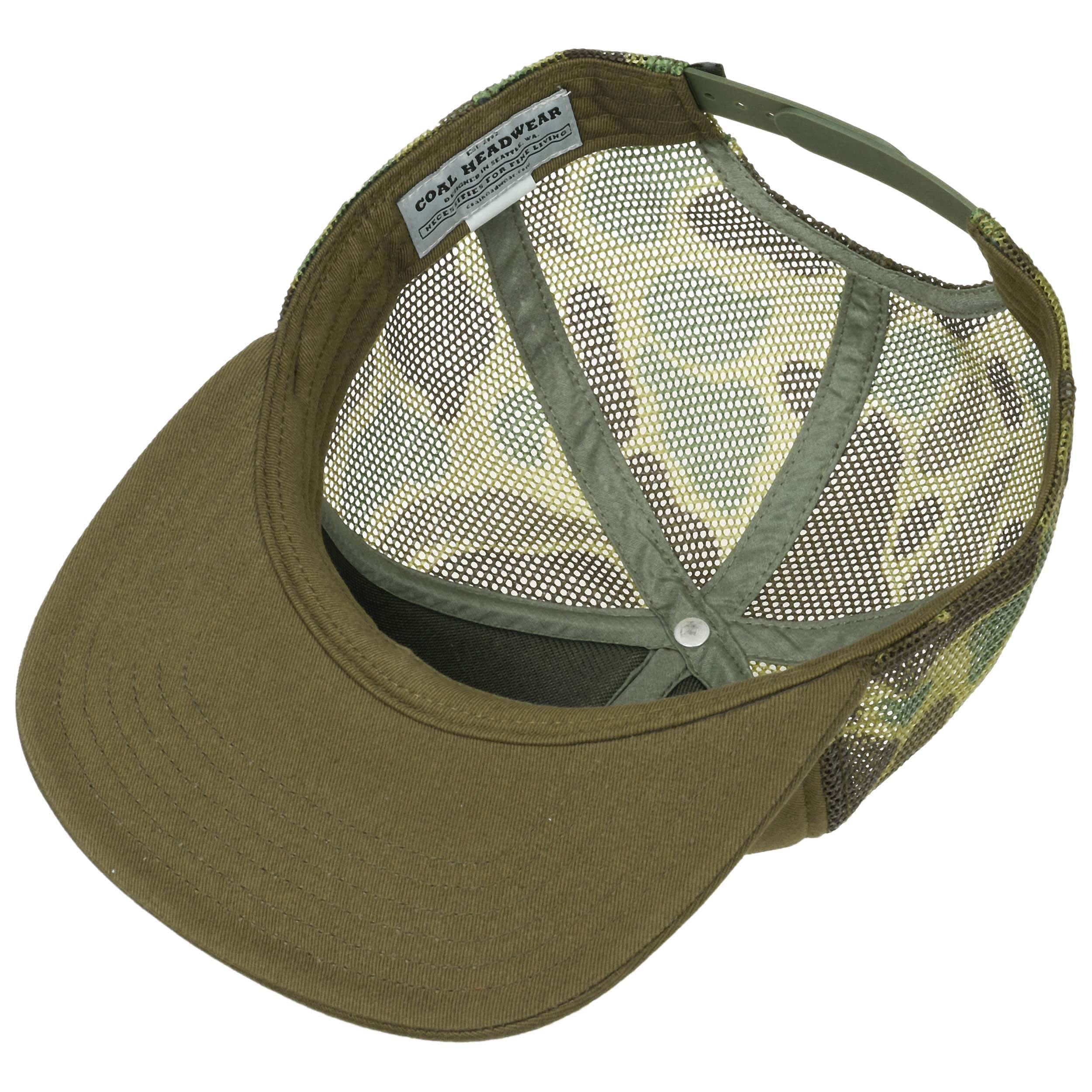 44064e470eb ... The Bureau Trucker Cap by Coal - camouflage 2 ...