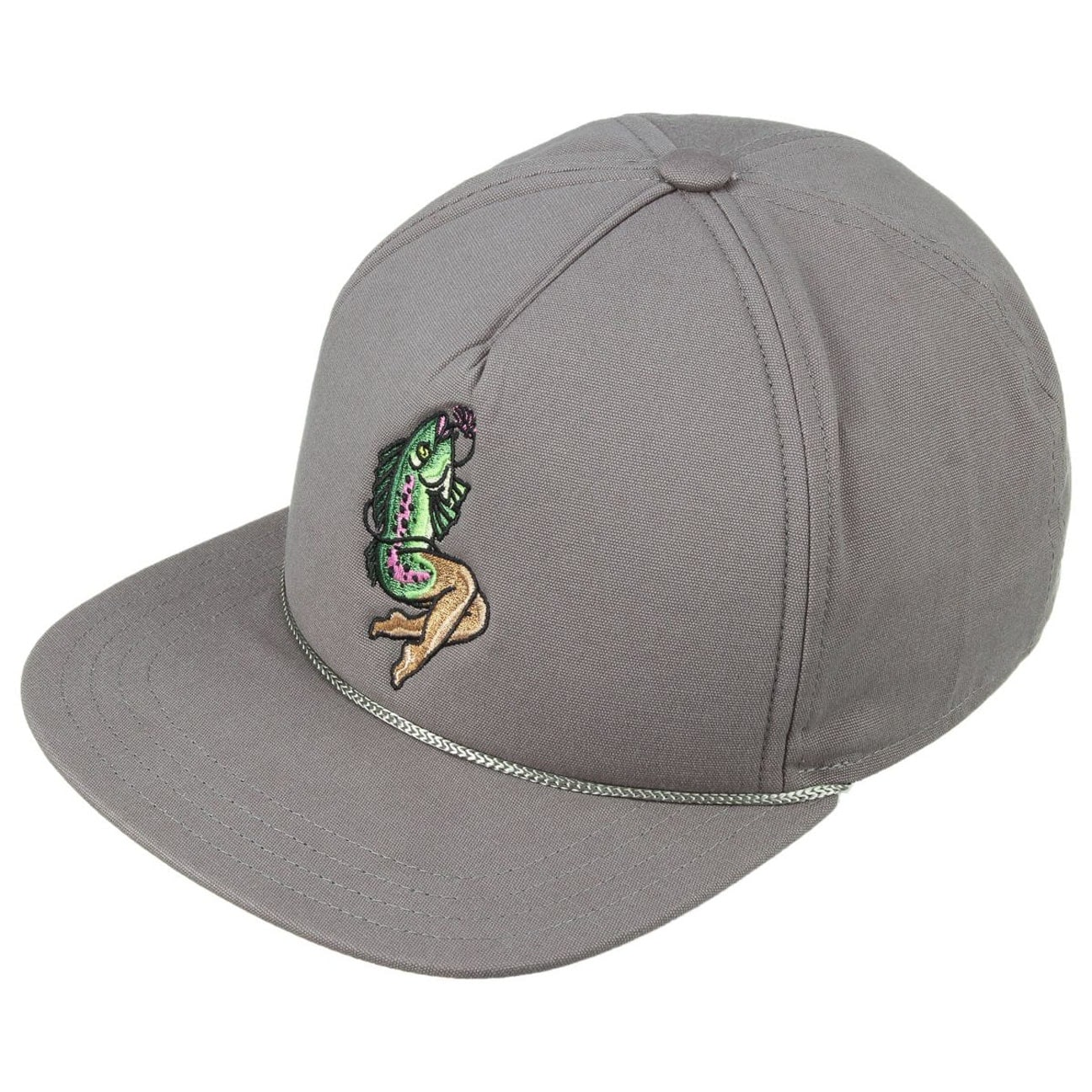 15fcf4ca6ef The Lore Fish Snapback Cap by Coal - grey 2 ...