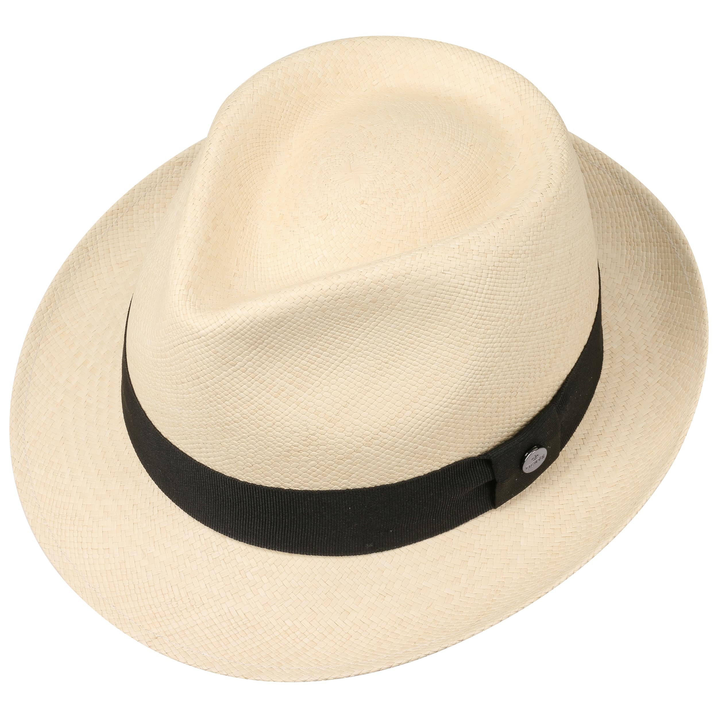 The Trilby Panama Hat by Lierys - nature-black 1 ... b1ee9723dcee