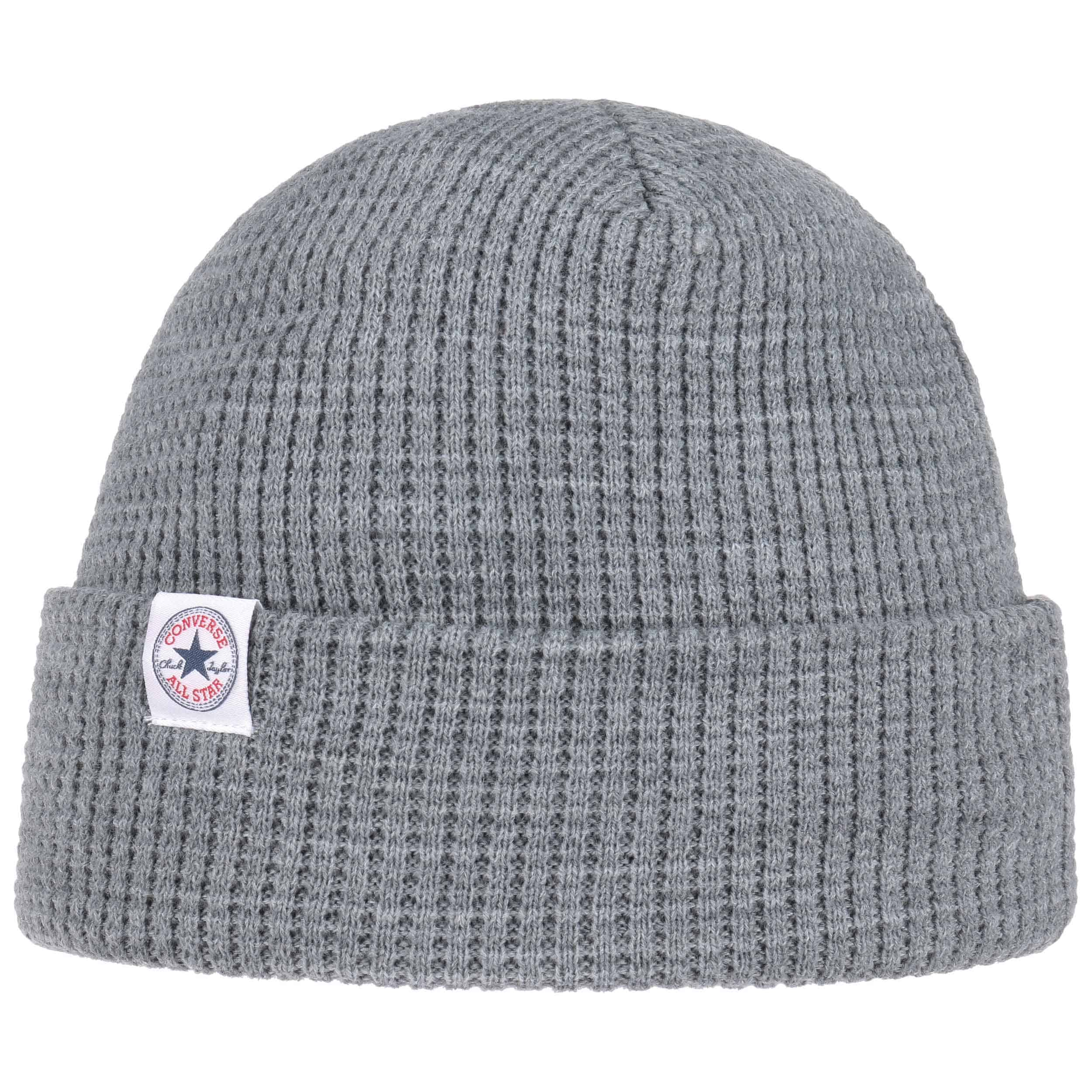 e47f39e3ef8 ... Thermal 2 in 1 Beanie by Converse - light grey 4 ...