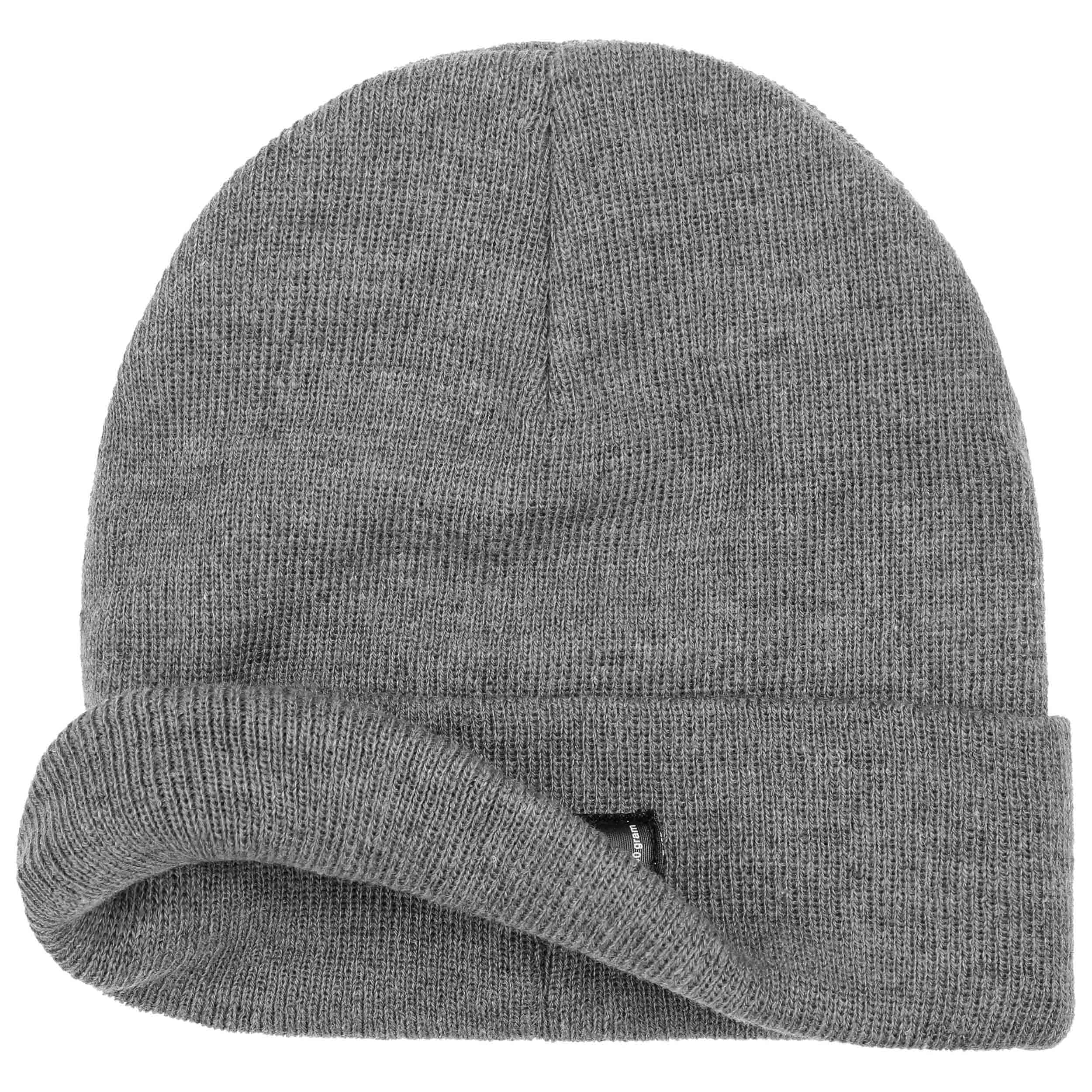 f064b02da9165 Thinsulate 3M Beanie Knit Hat with Cuff - grey 1 ...