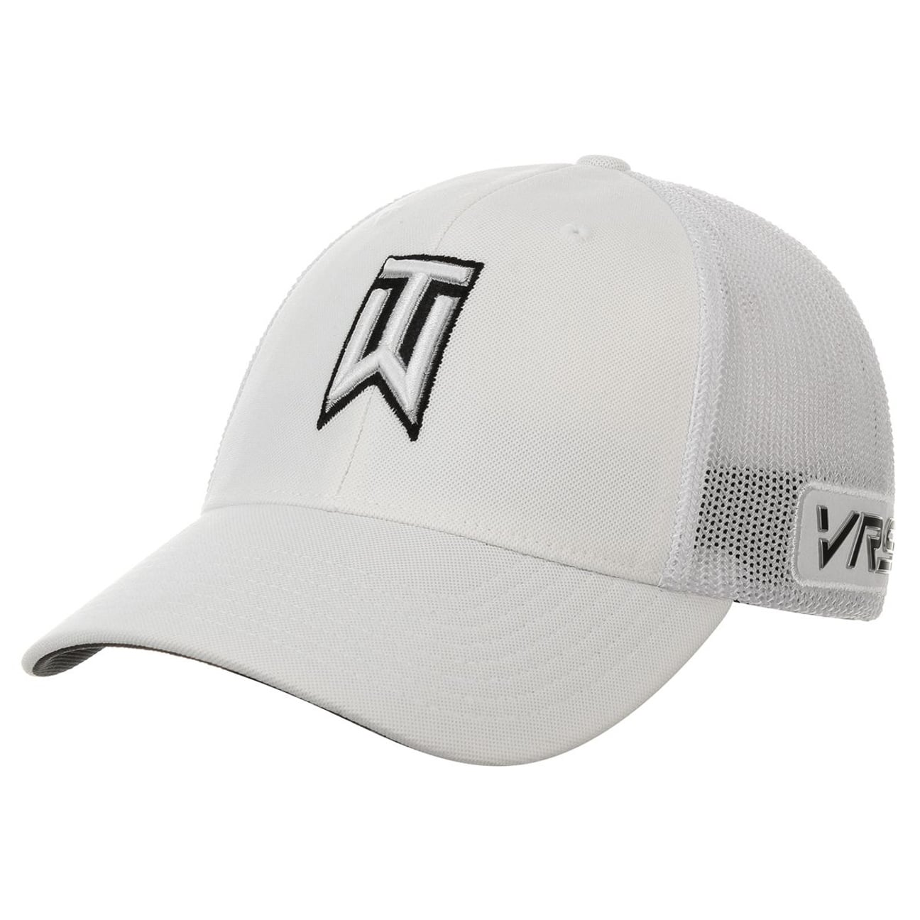 6e87814a ... Tiger Woods Flexfit Tour Mesh Cap by Nike - white 1