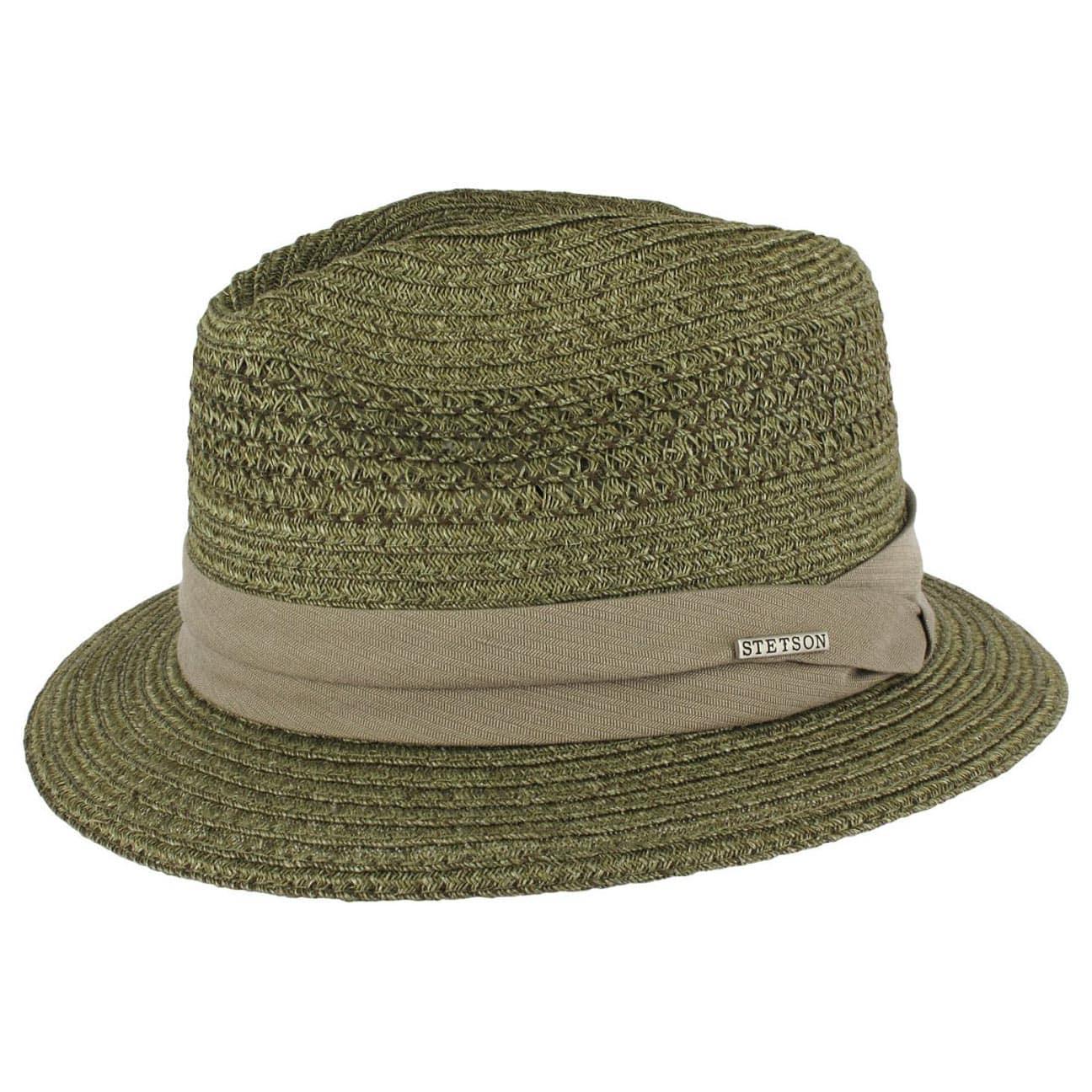 ... Tonawanda Hemp Fedora by Stetson - green 1 ... 55f14da77f6
