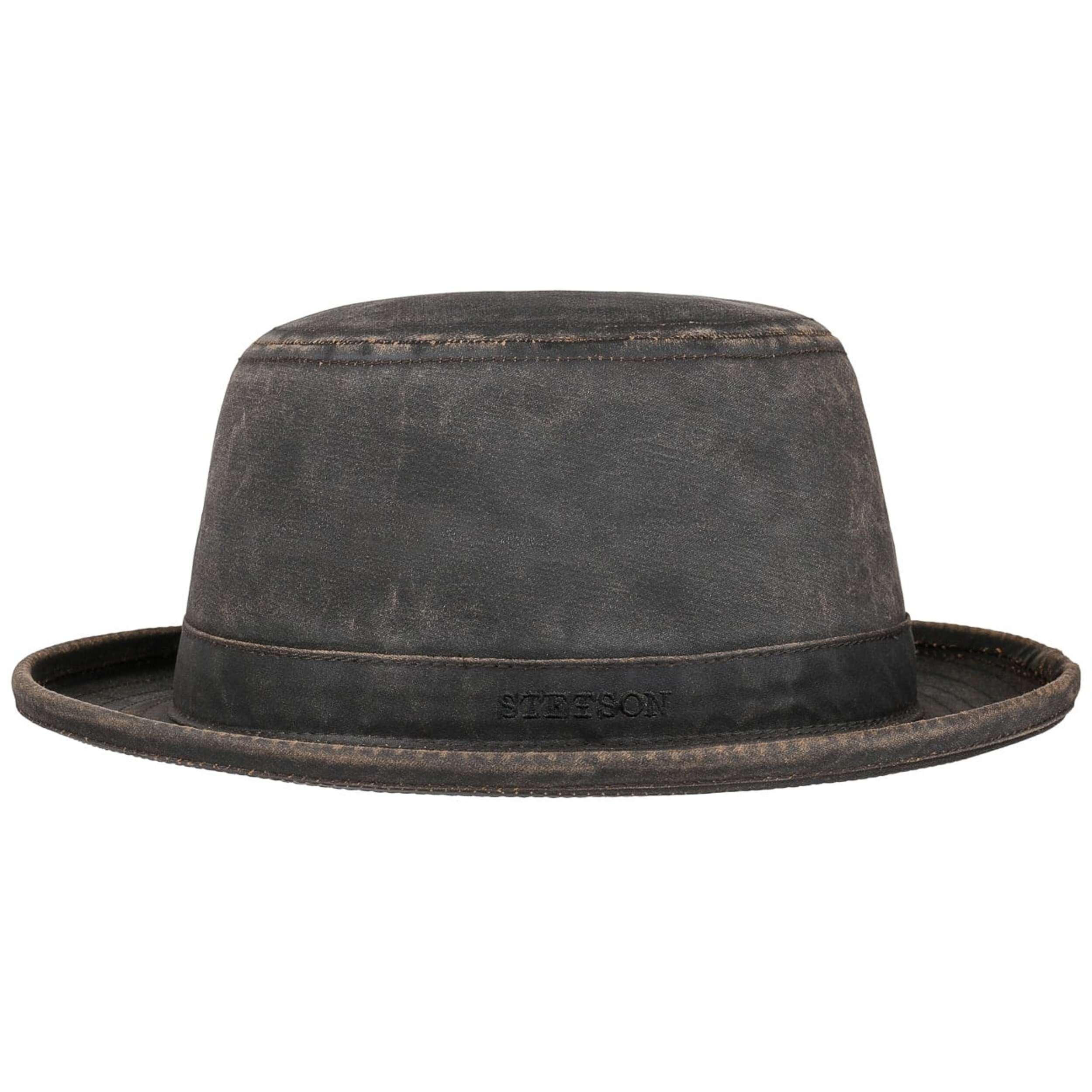 Top Qualität stabile Qualität angenehmes Gefühl Top Hat Cotton Pork Pie Hut by Stetson