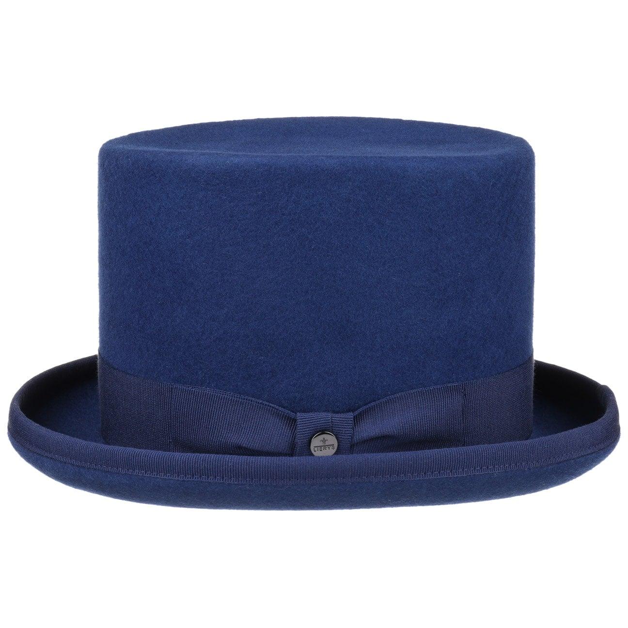 ... Top Hat Wool Felt by Lierys - blue 4 ... 37f0c27df62