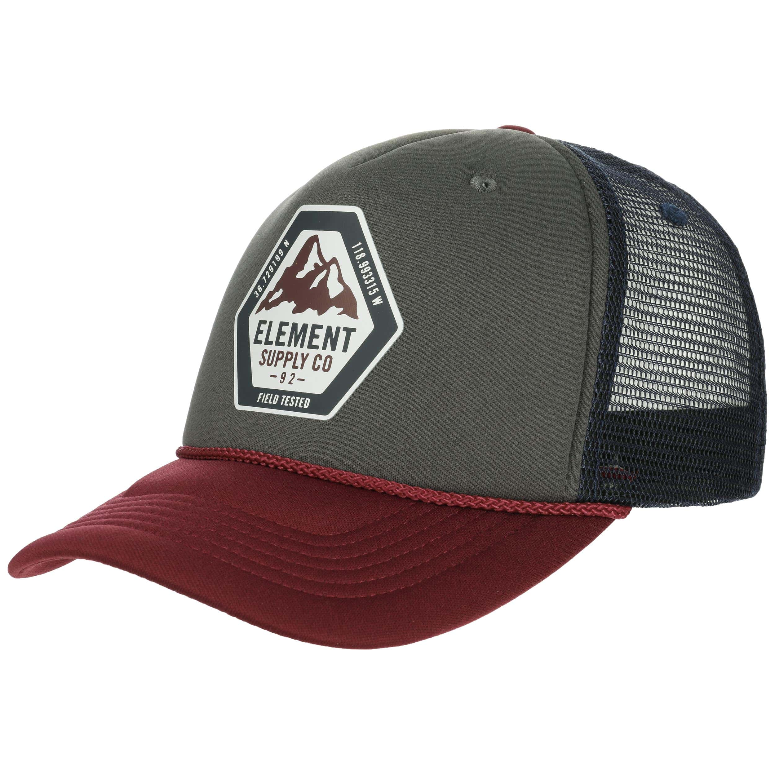 c97a19a1399 ... Tract Trucker Cap by element - grey 6 ...