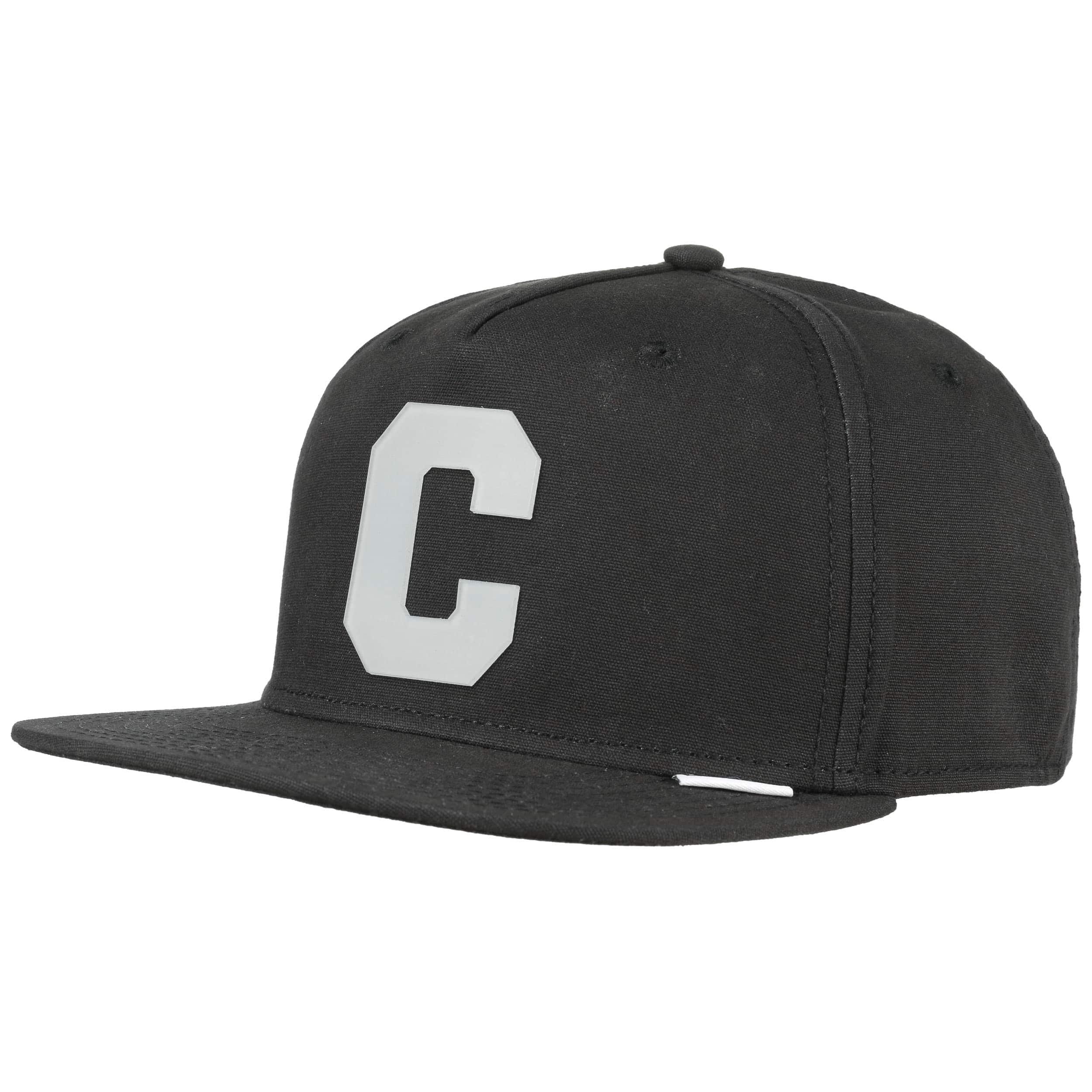e0615676 ... Translucent C Snapback Cap by Converse - black 5
