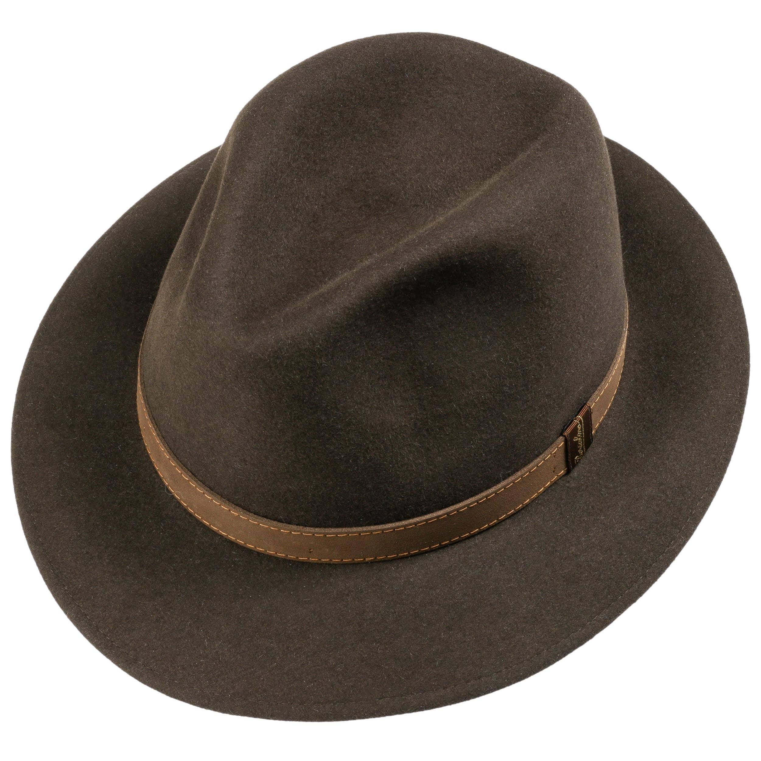 02b319cc7f0 Traveller Marrone Hat by Borsalino - brown 1 ...