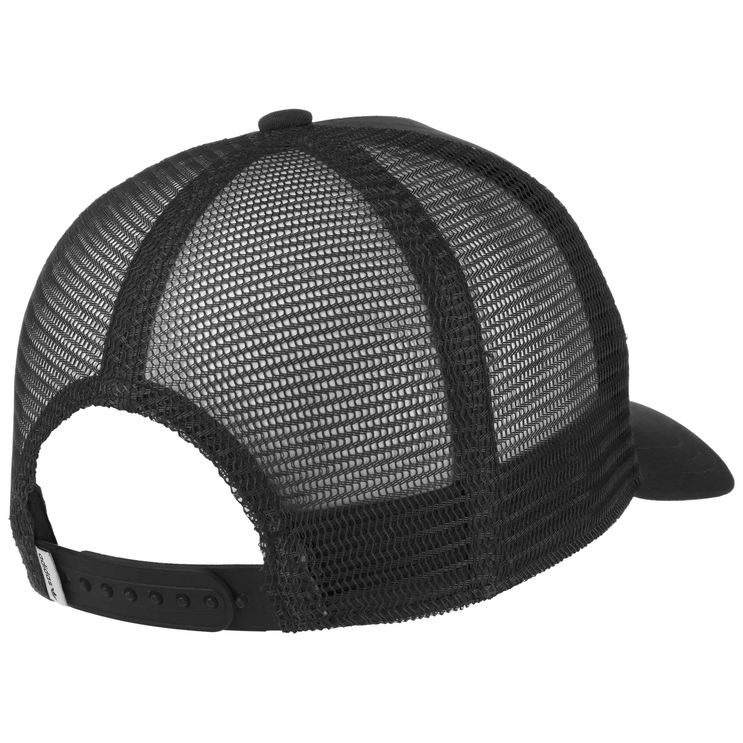 ... Trefoil Trucker Cap by adidas - black 1 ... 274f22780aa6