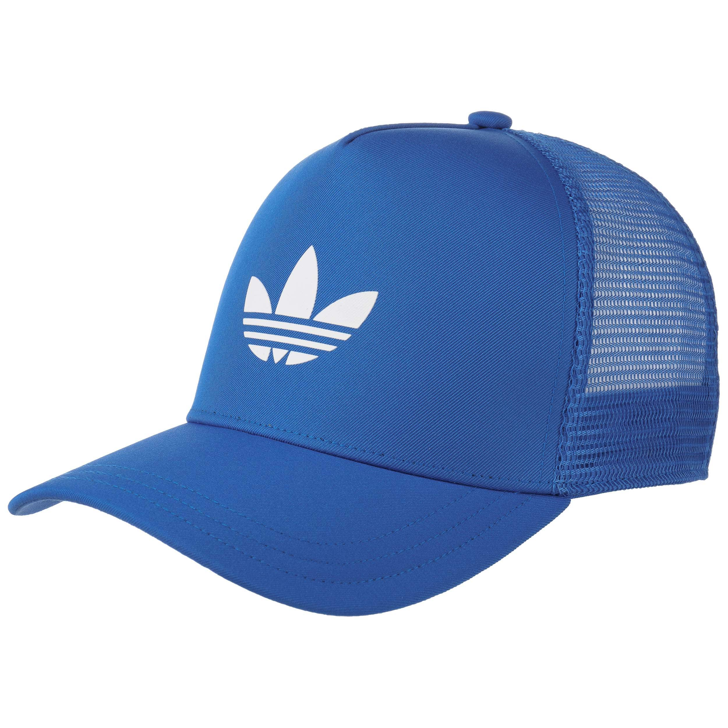 ... Trefoil Trucker Cap by adidas - blue 2 ... 4802225472b5