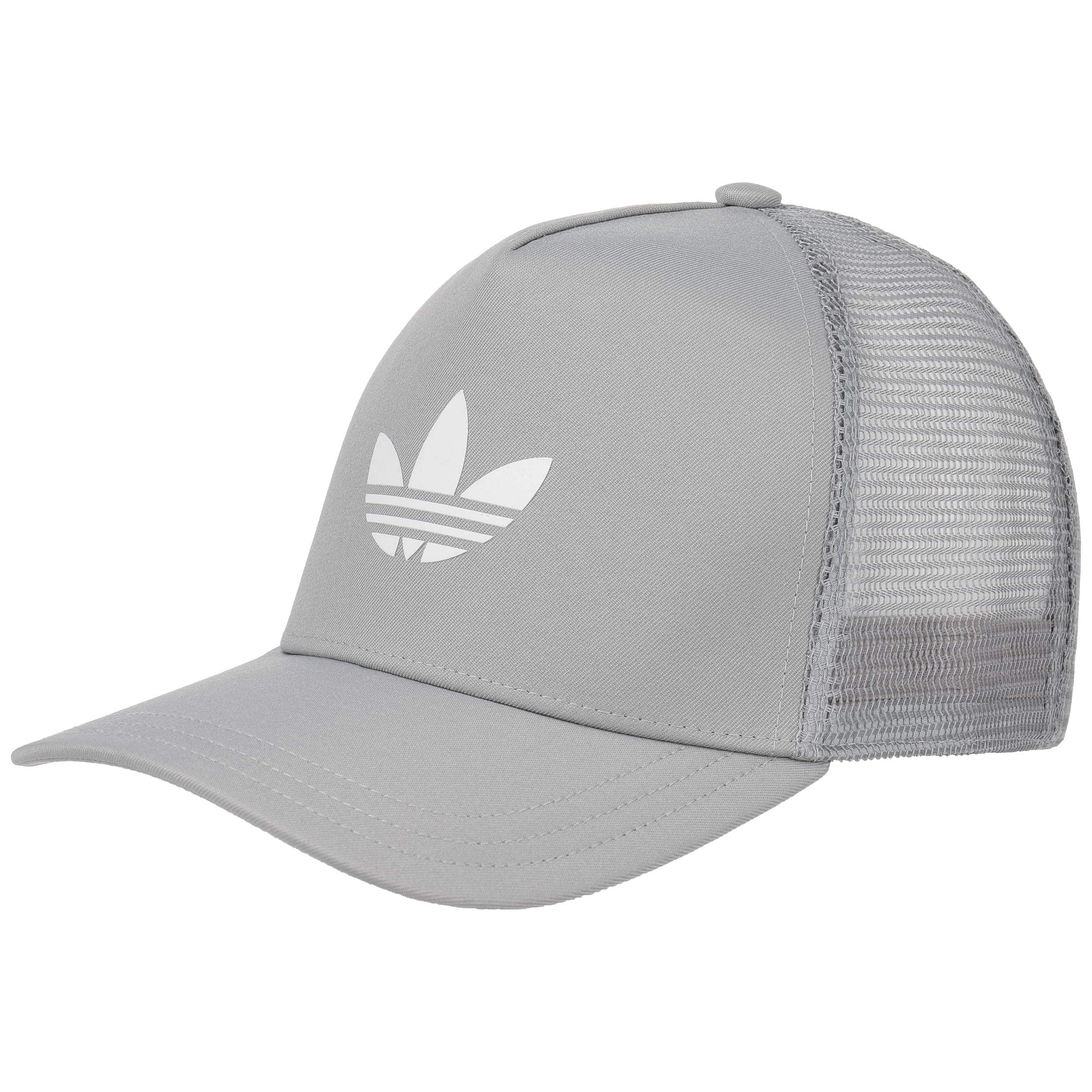 ... Trefoil Trucker Cap by adidas - grey 5 ... 93af3fb32d92