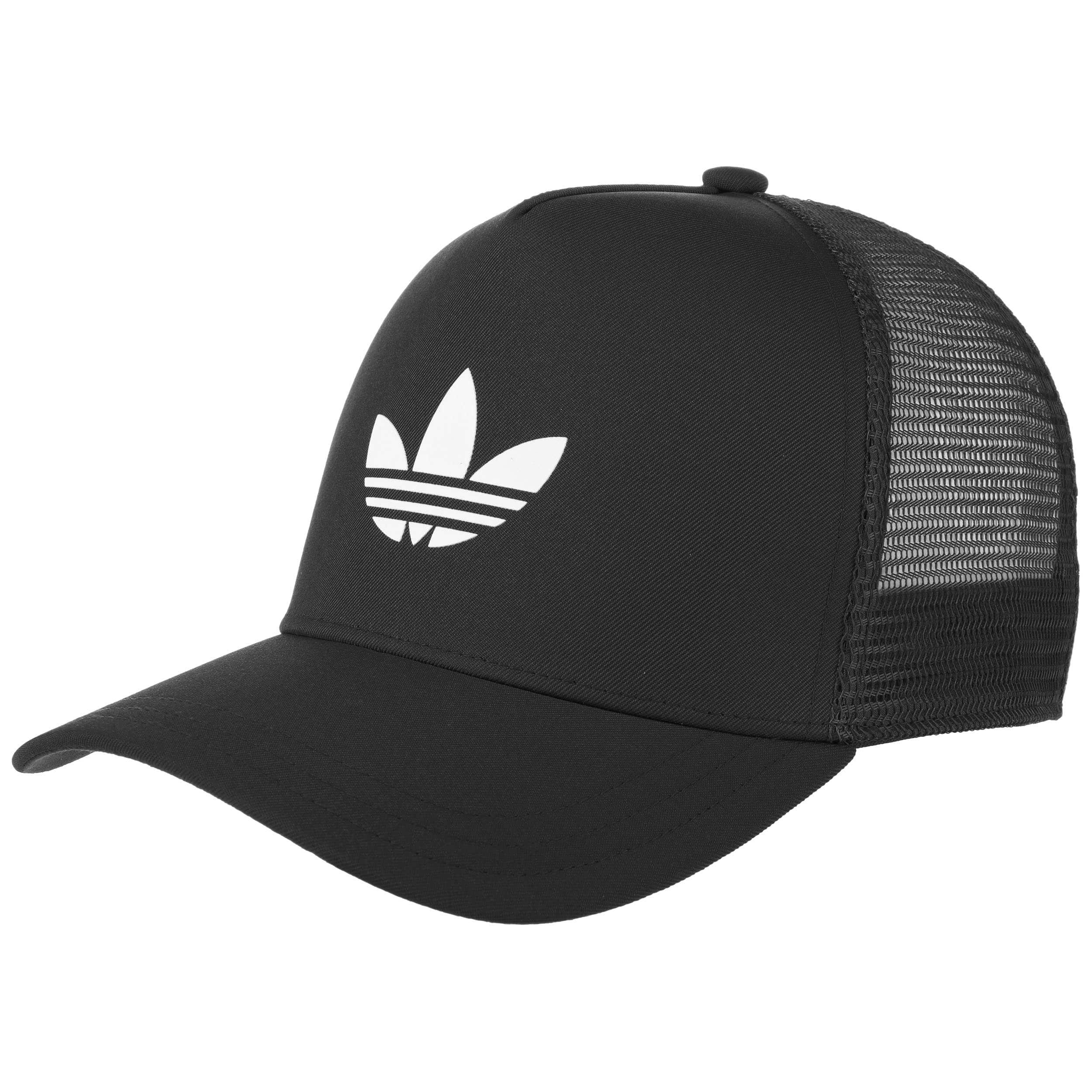 adidas trucker cap schwarz weiß