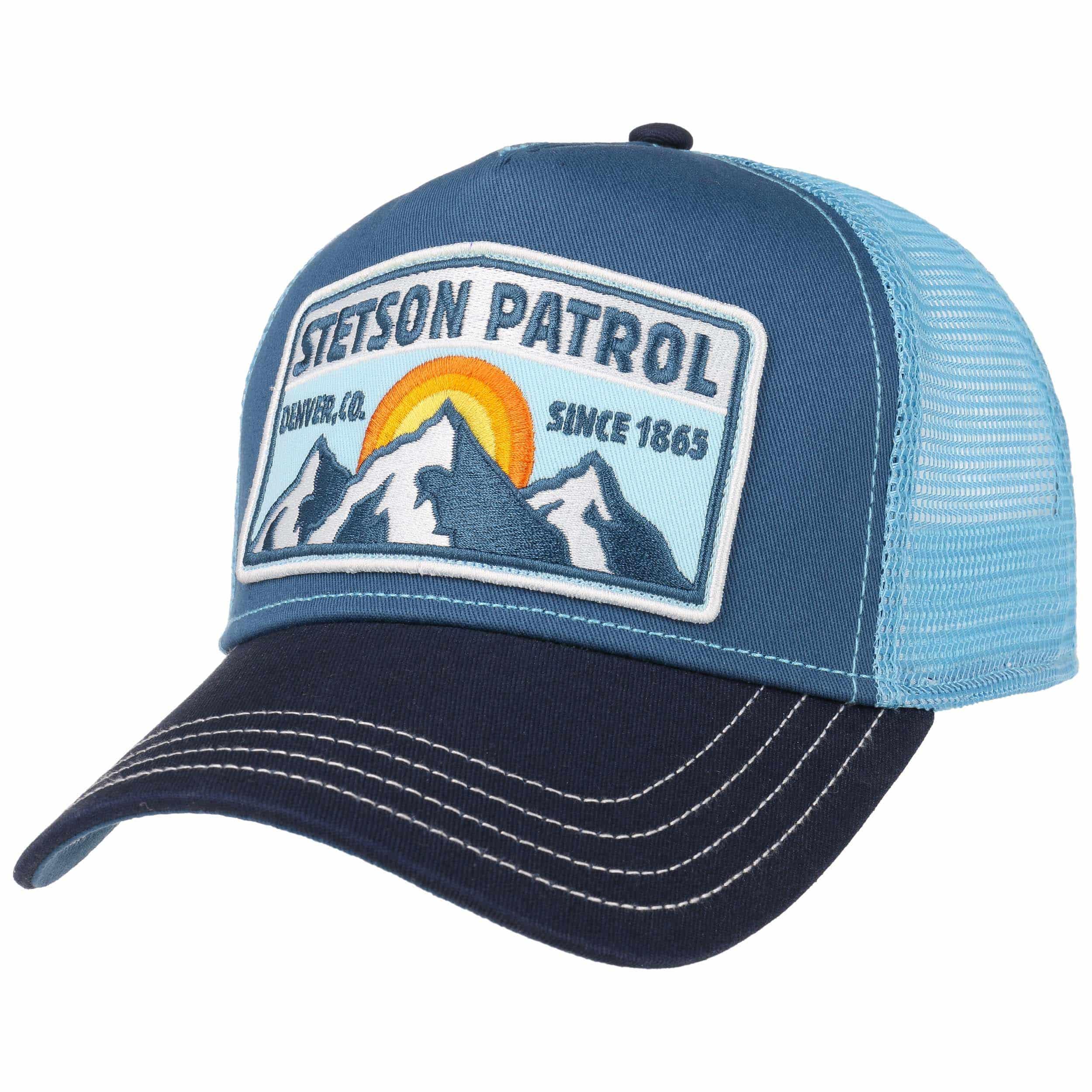 Trucker Cap Patrol by Stetson - blue 1 8701d7bd7e3