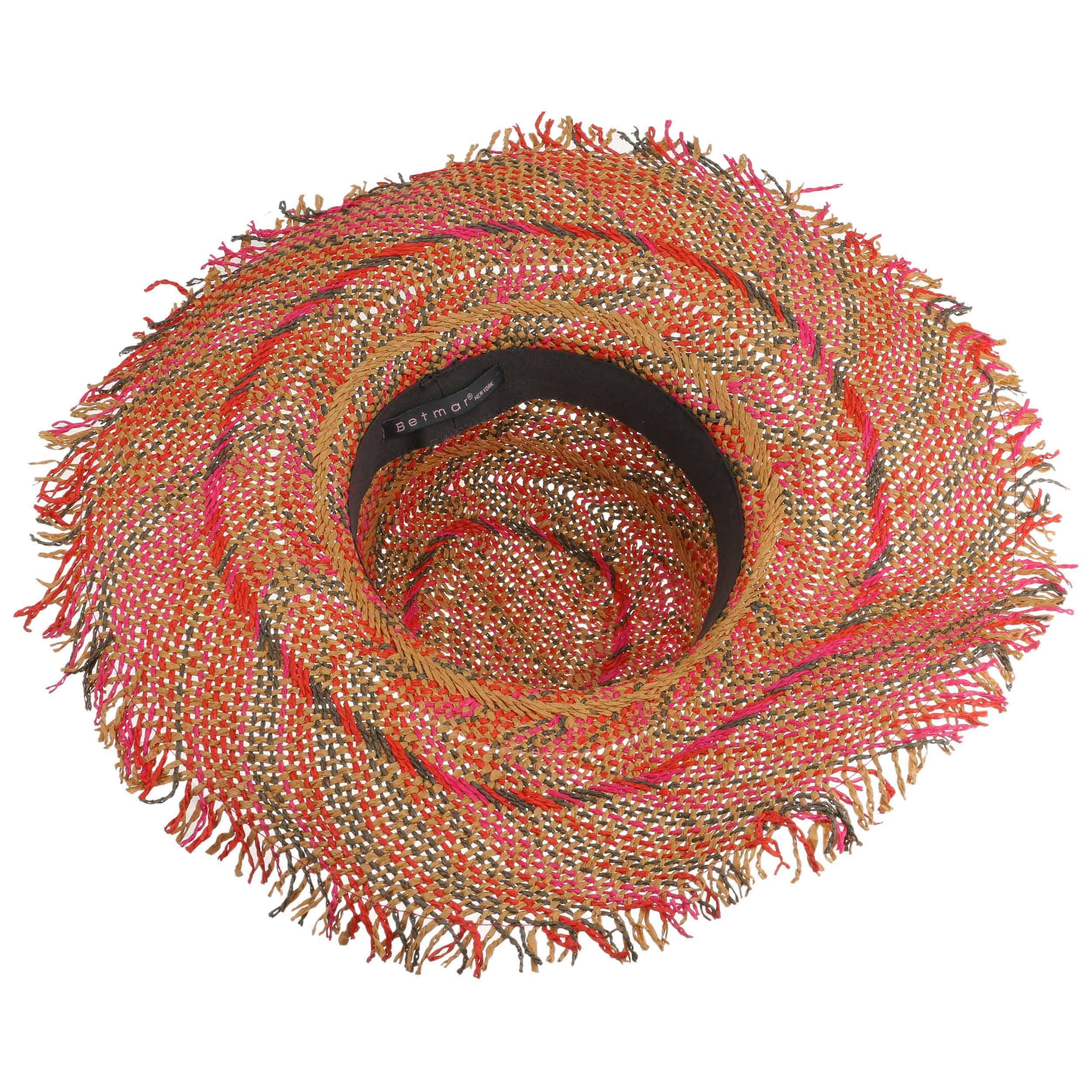 9a927bca ... Tulum Floppy Hat by Betmar - mixed colours 2 ...