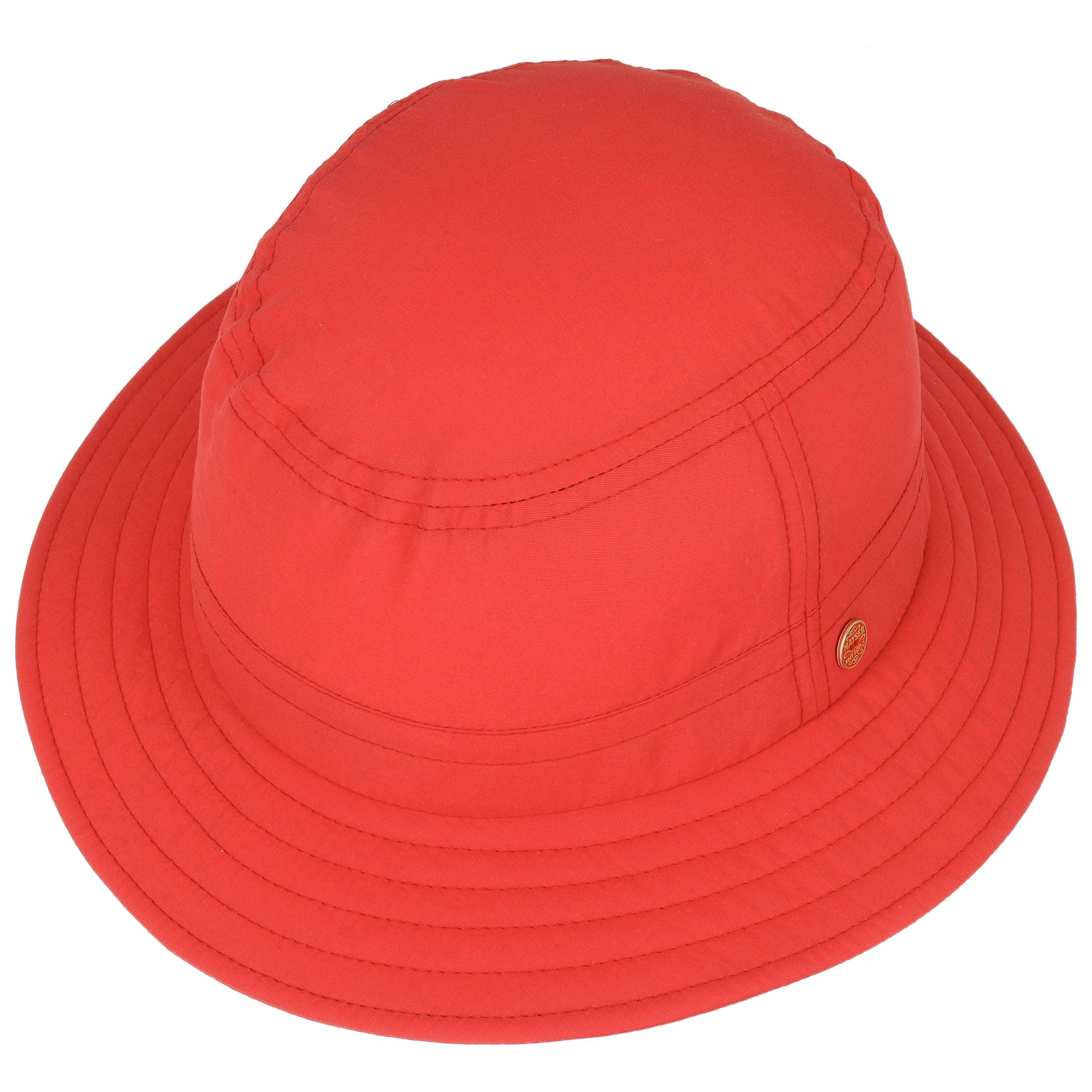 60356ed4950d ... UV Protection Sun Hat by Mayser - red 1 ...