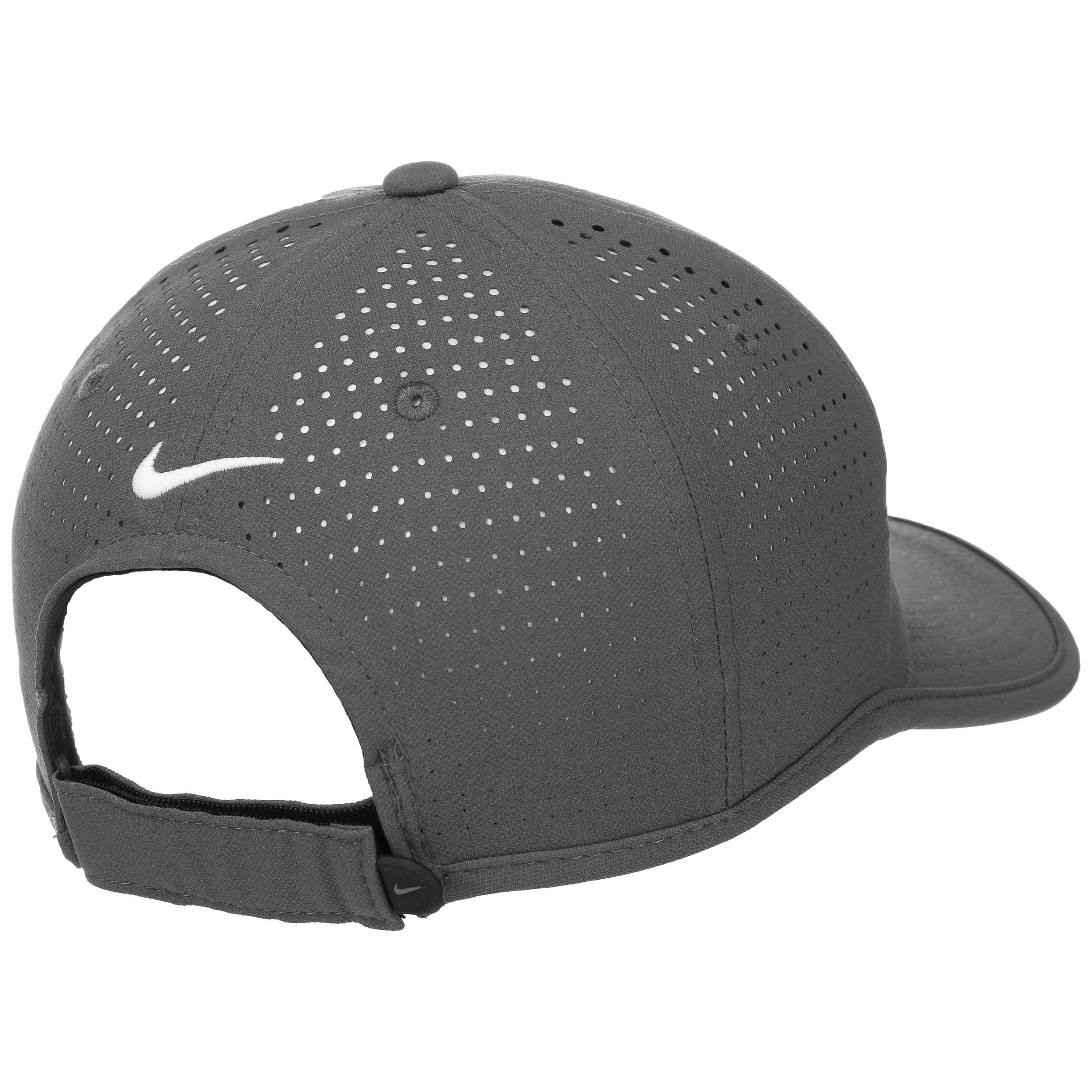 a3780bcc57c ... Ultralight Tour Perforation Cap by Nike - grey 3 ...