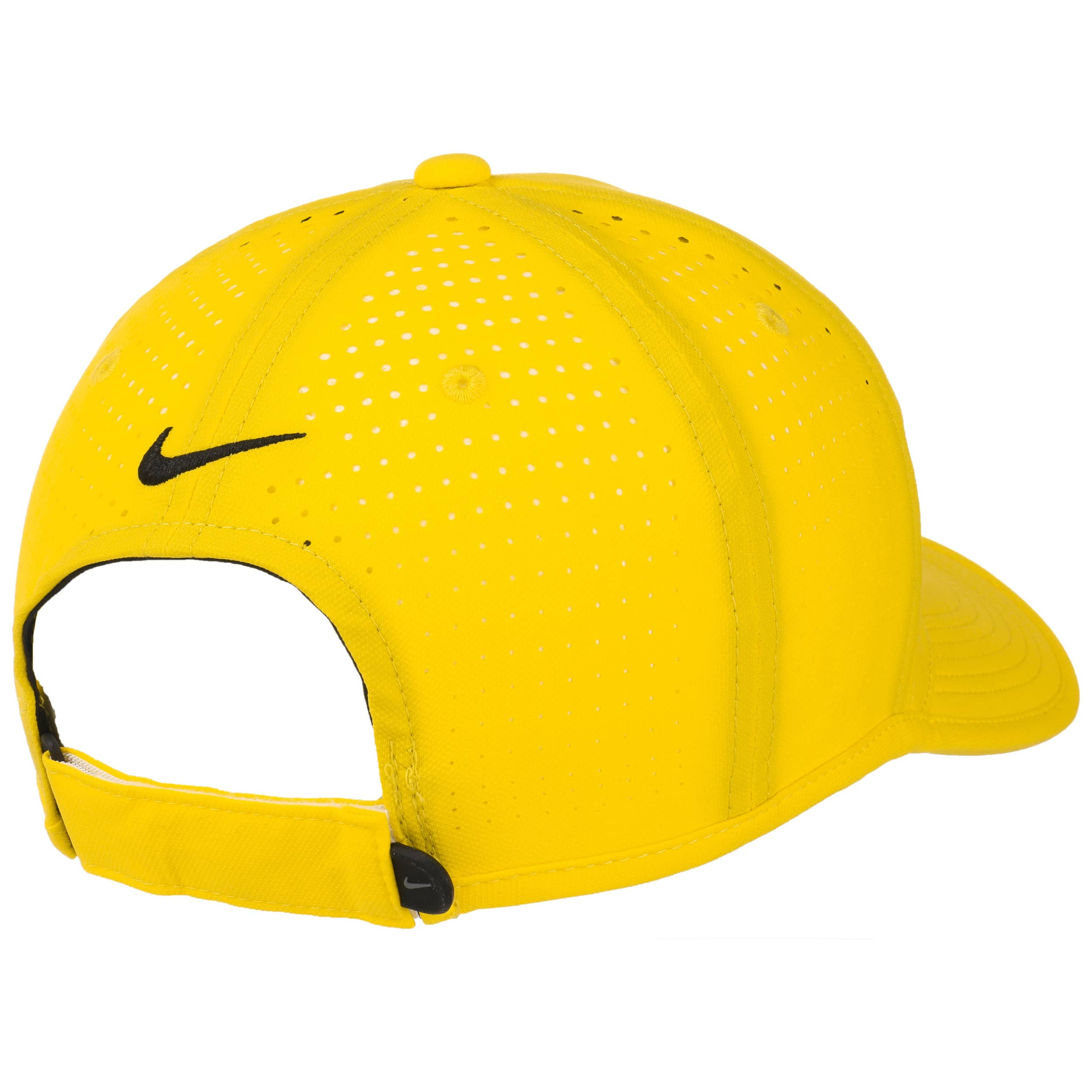 defe6e0f89c ... Ultralight Tour Perforation Cap by Nike - yellow 3 ...