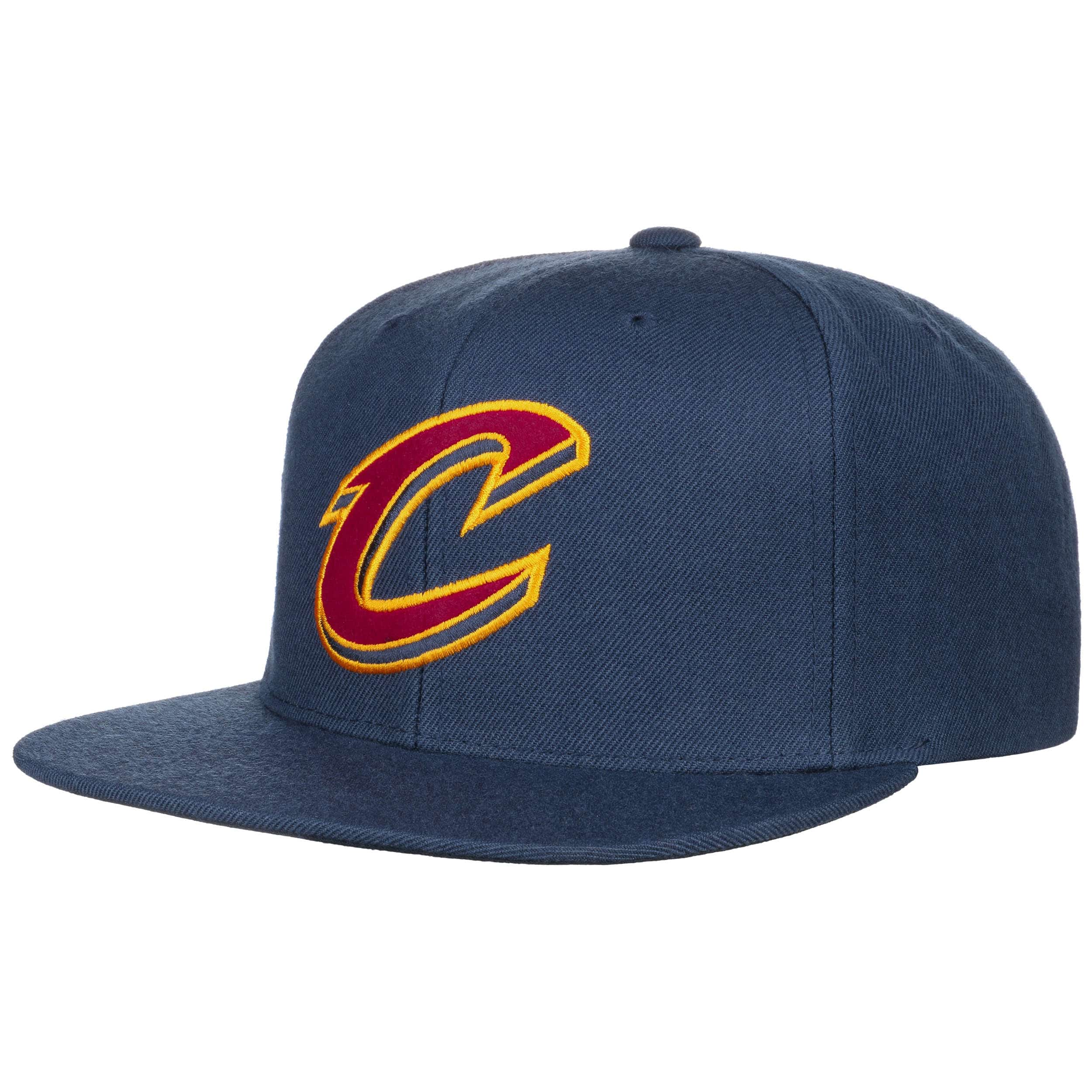 80432a805 Under Visor Cavs Cap by Mitchell & Ness