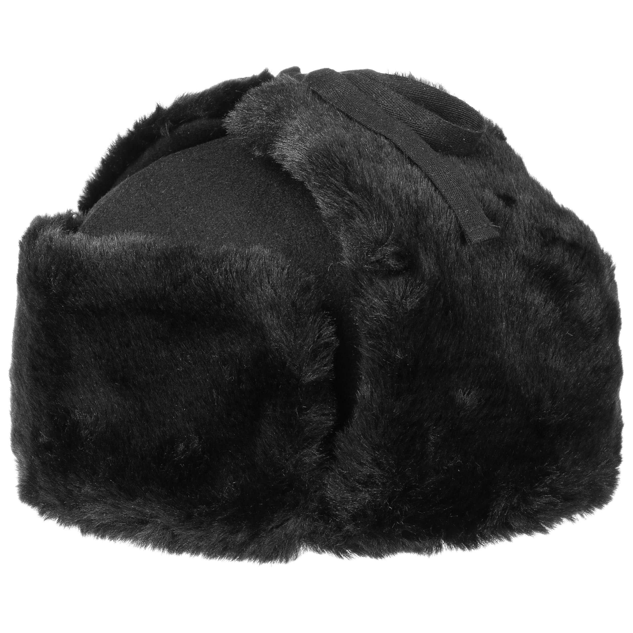 6dc86fc4cc2 ... Ushanka Aviator Hat by Kangol - black 6 ...