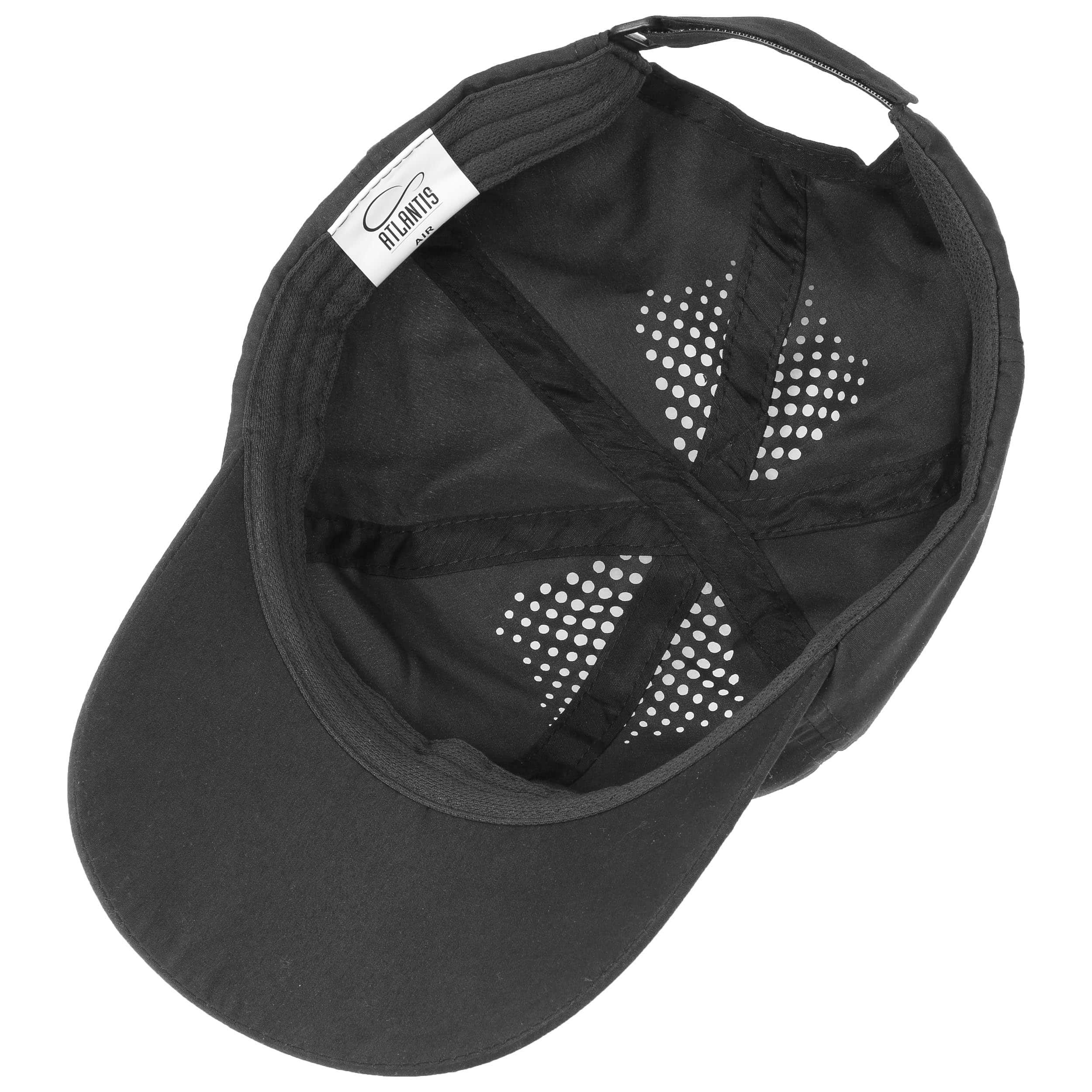 ... Vented Strapback Cap - black 2 ... 3717bd73bc1