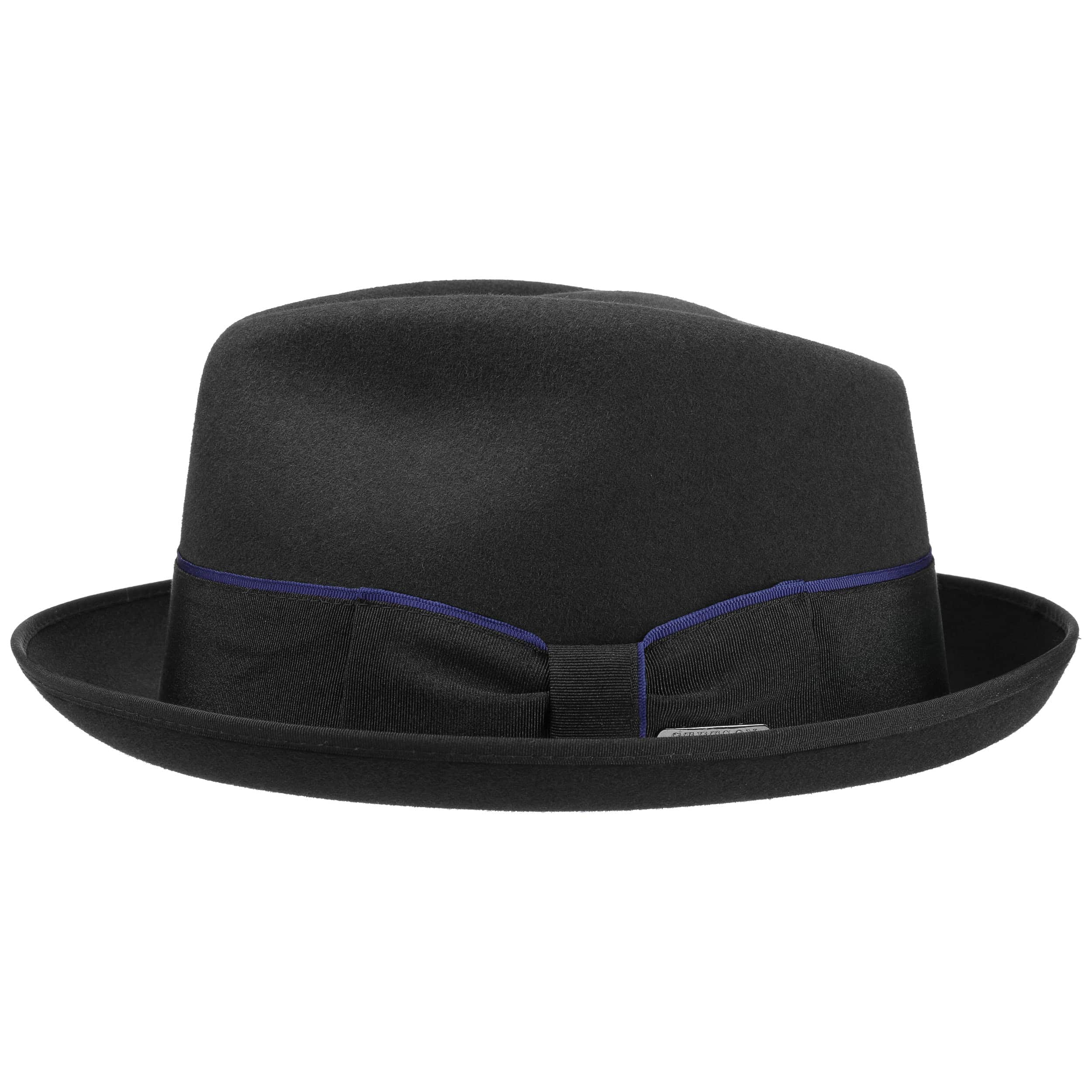 5be01a47c5f ... Vertasco Diamond Fur Felt Hat by Stetson - black 1
